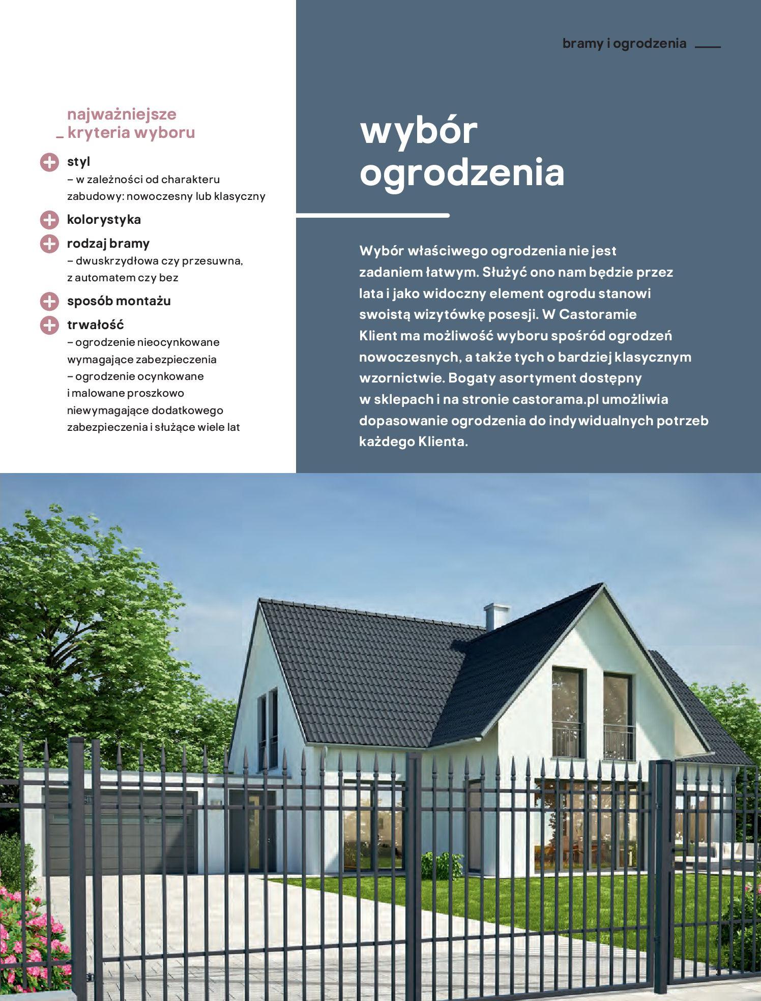 Gazetka Castorama: Przewodnik bramy i ogrodzenia 2021-02-08 page-3