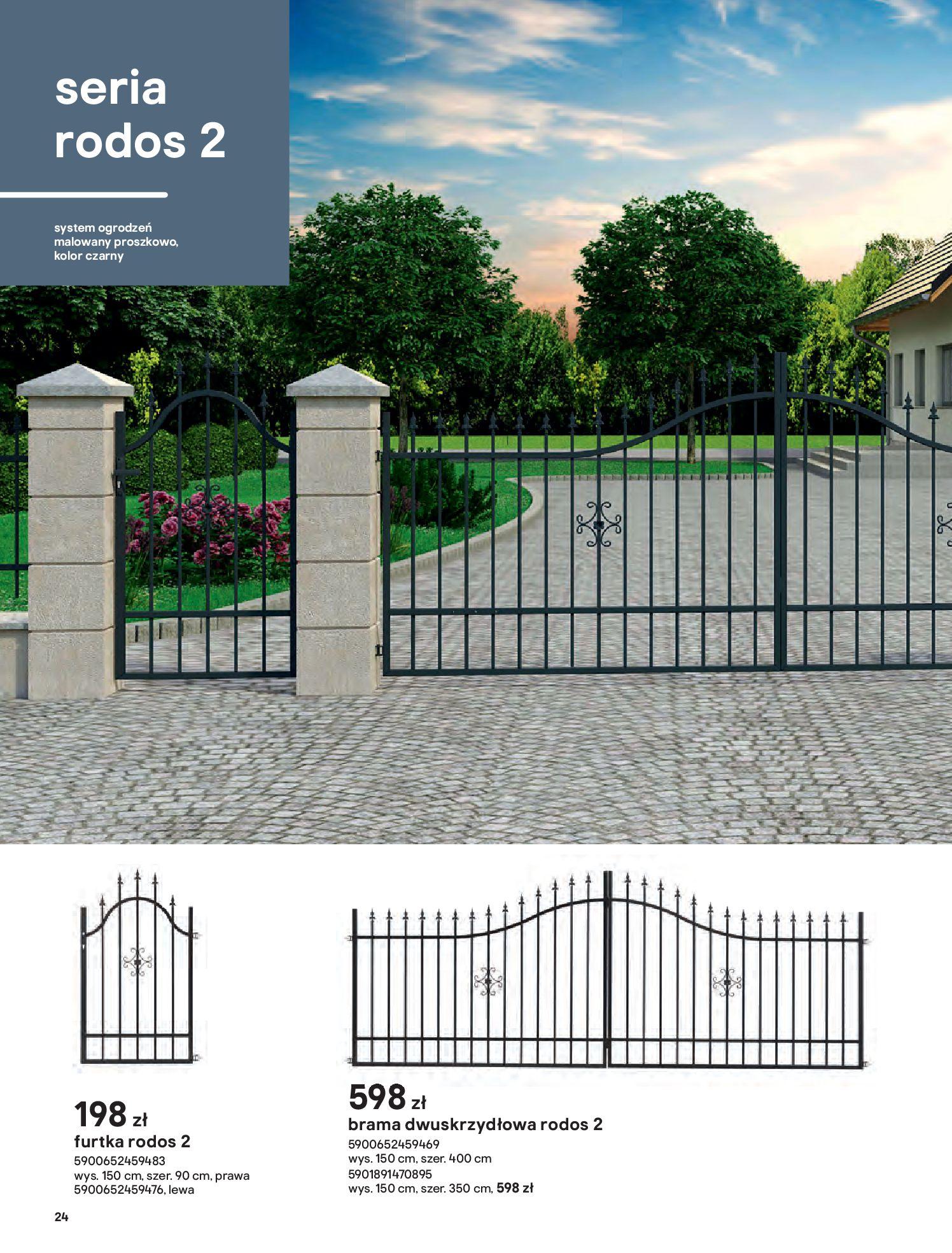 Gazetka Castorama: Przewodnik bramy i ogrodzenia 2021-02-08 page-24