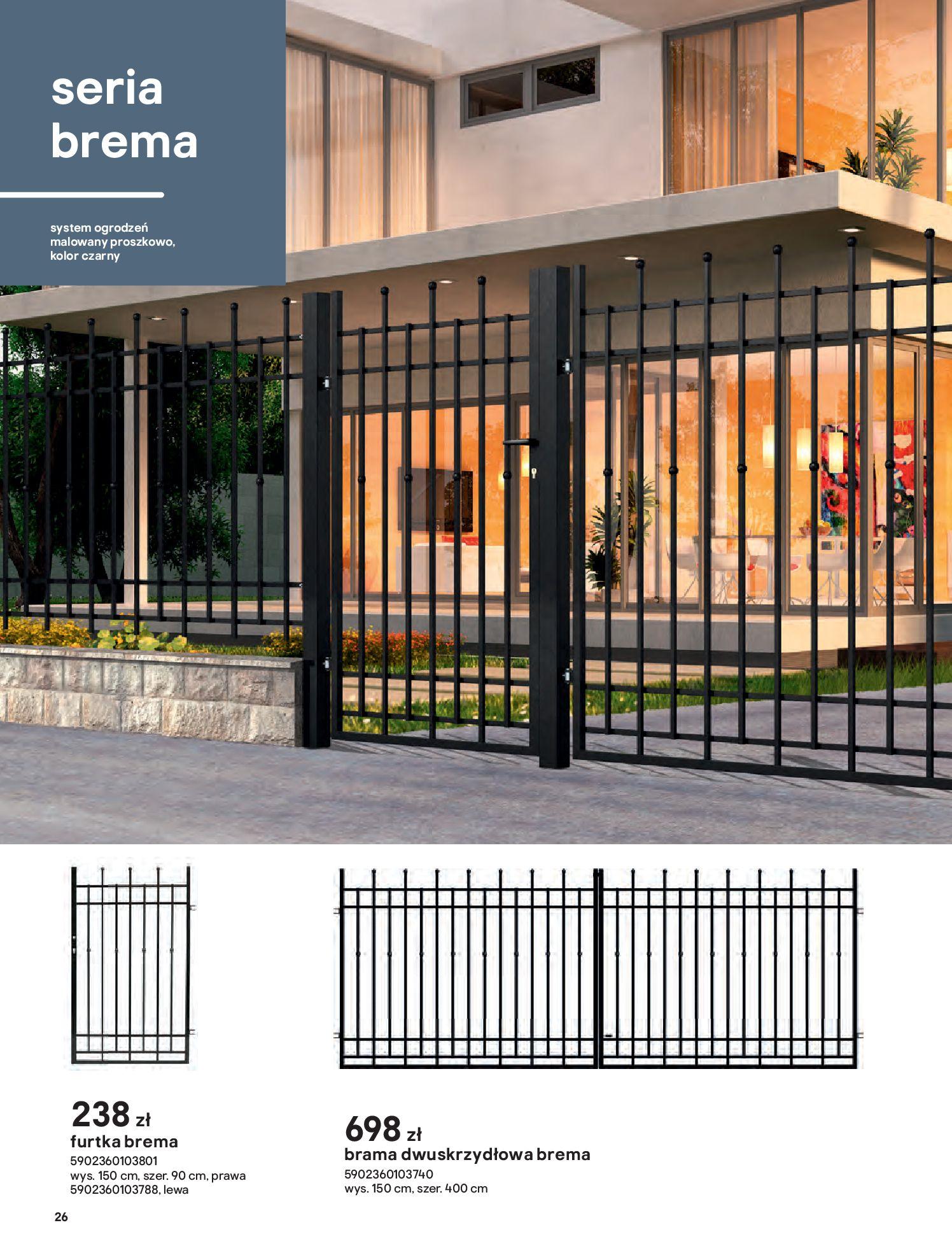 Gazetka Castorama: Przewodnik bramy i ogrodzenia 2021-02-08 page-26