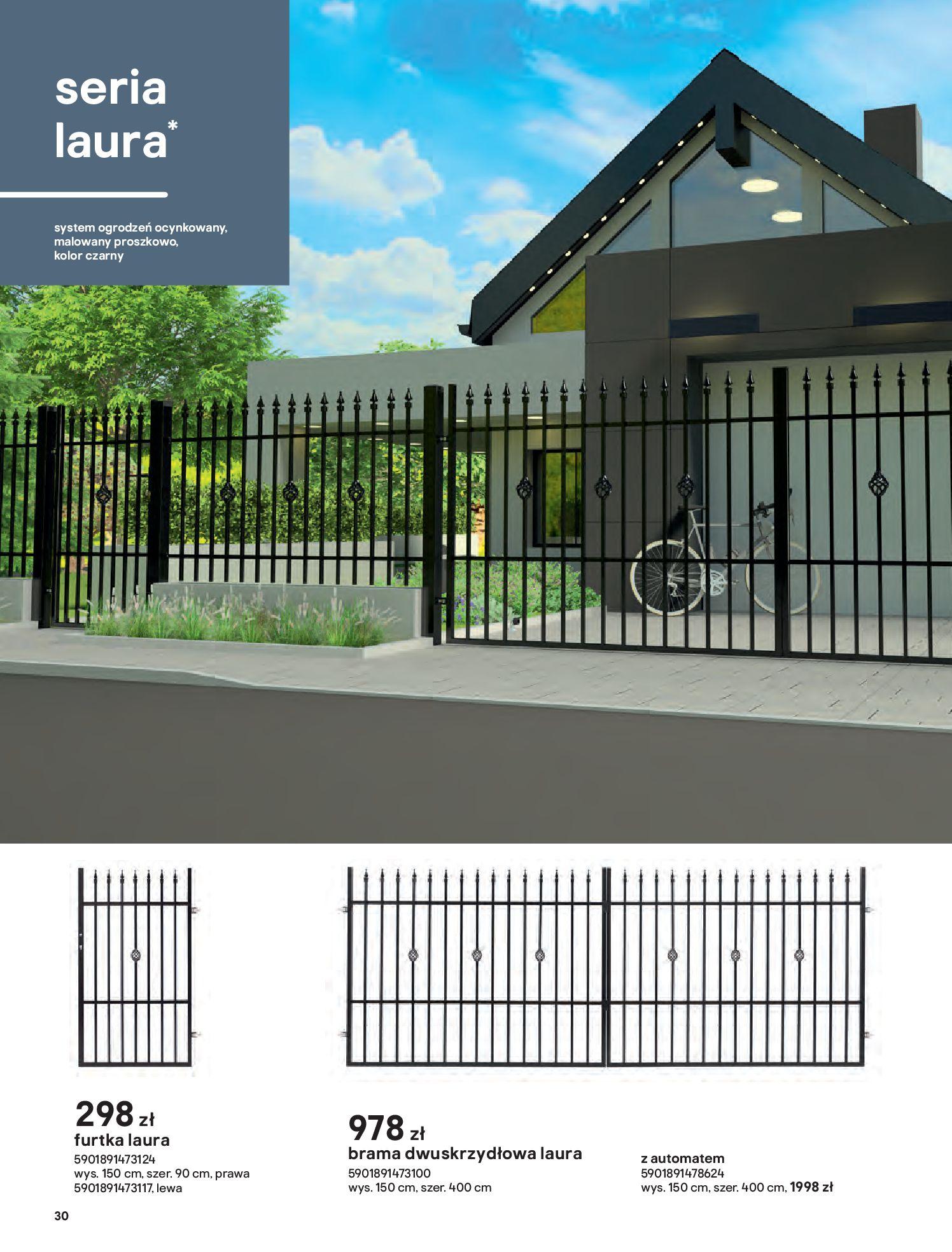 Gazetka Castorama: Przewodnik bramy i ogrodzenia 2021-02-08 page-30