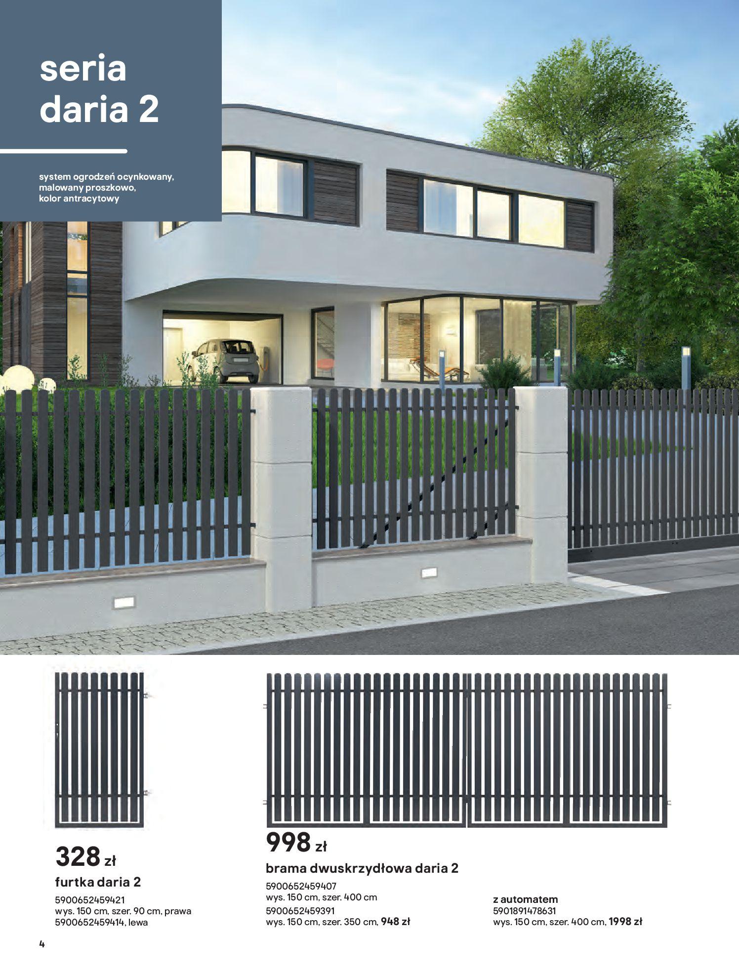 Gazetka Castorama: Przewodnik bramy i ogrodzenia 2021-02-08 page-4