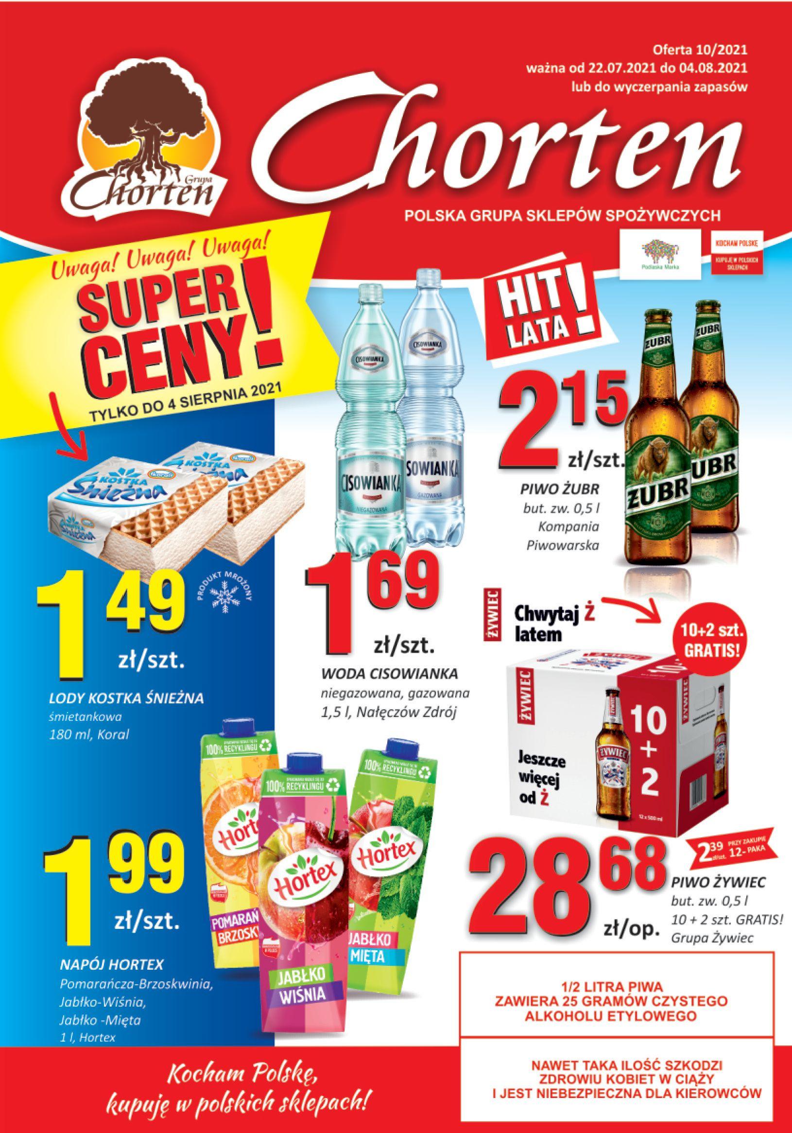 Gazetka Chorten: Gazetka Chorten - Podlasie 2021-07-22 page-1
