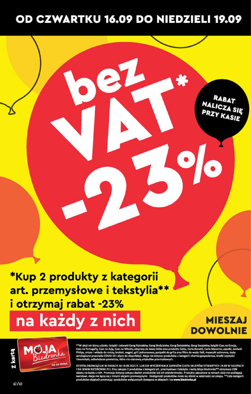 Gazetka Biedronka: Gazetka Biedronka - W tym tygodniu od 16.06 2021-09-16 page-62
