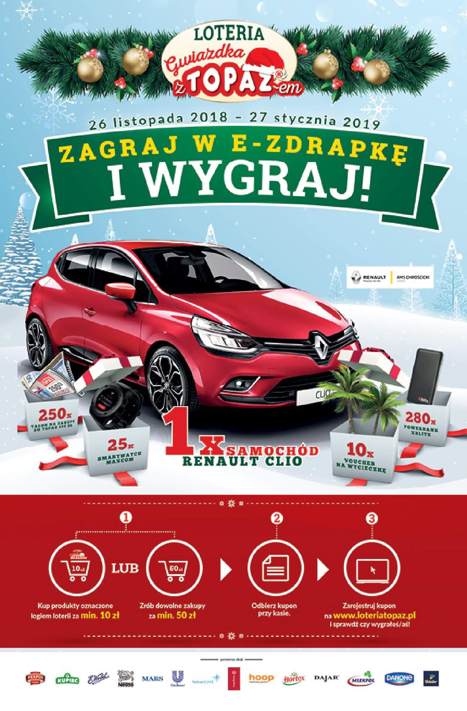 Gazetka TOPAZ - Oferta na art. spożywcze-05.12.2018-12.12.2018-page-