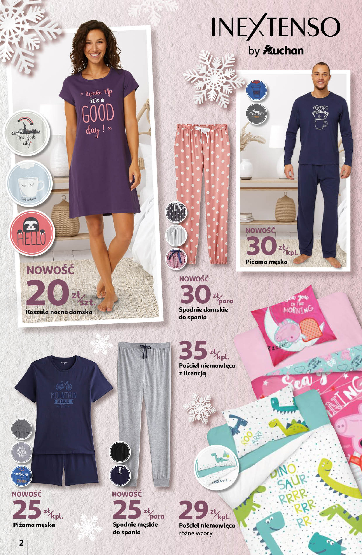 Gazetka Auchan: Ciepłe, modne i wygodne Hipermarkety 2021-01-14 page-2