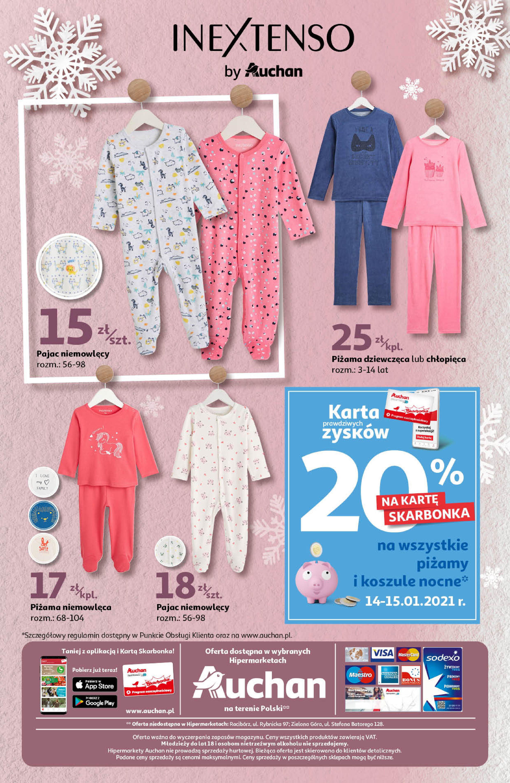 Gazetka Auchan: Ciepłe, modne i wygodne Hipermarkety 2021-01-14 page-3