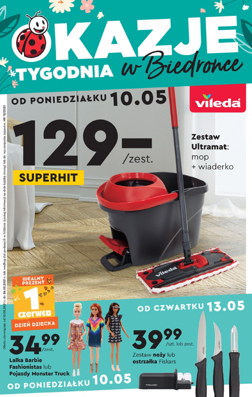 Biedronka:  Gazetka Biedronka - Okazje tygodnia od 10.05 09.05.2021