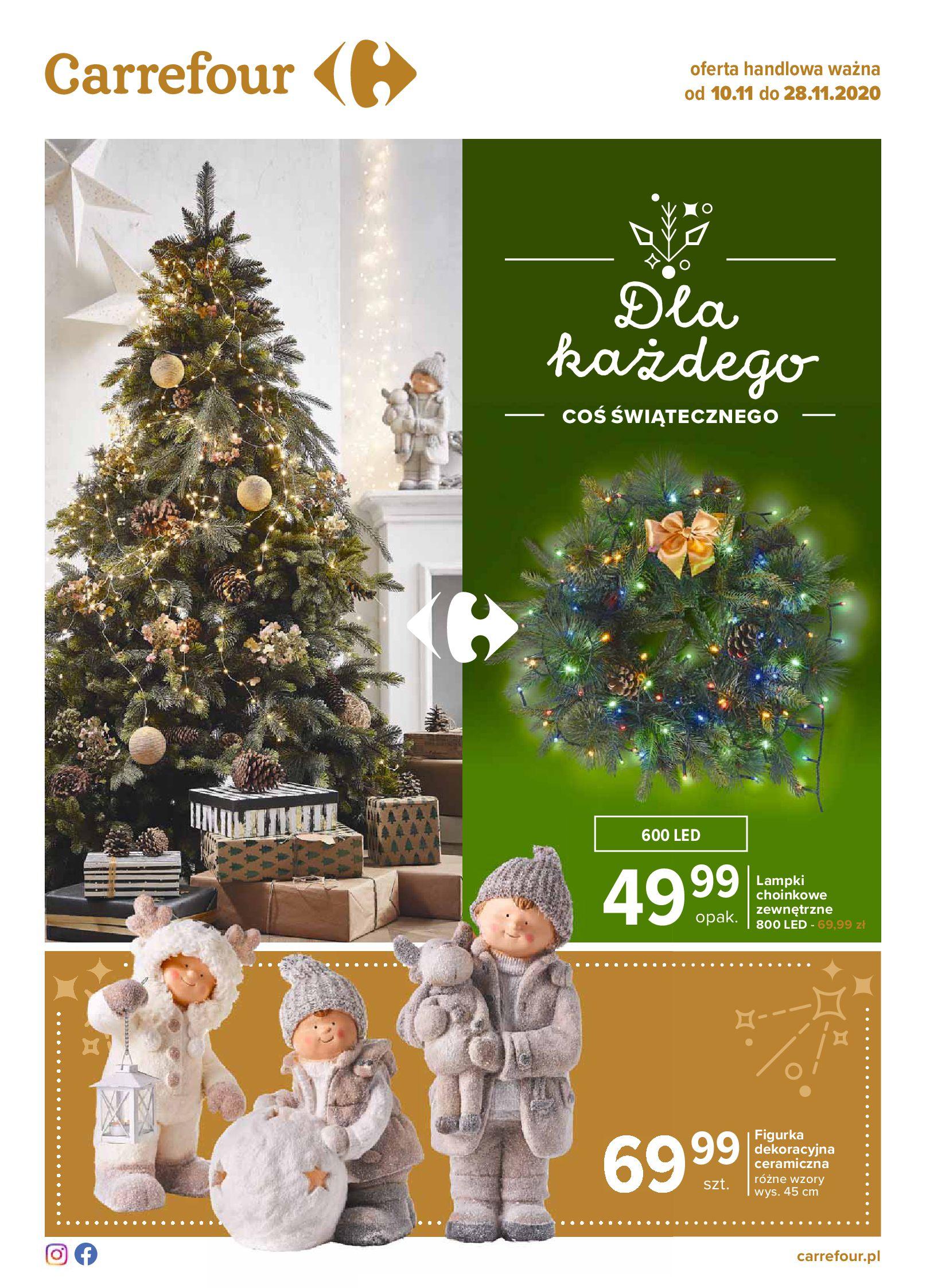 Carrefour:  Dla każdego coś świątecznego 09.11.2020