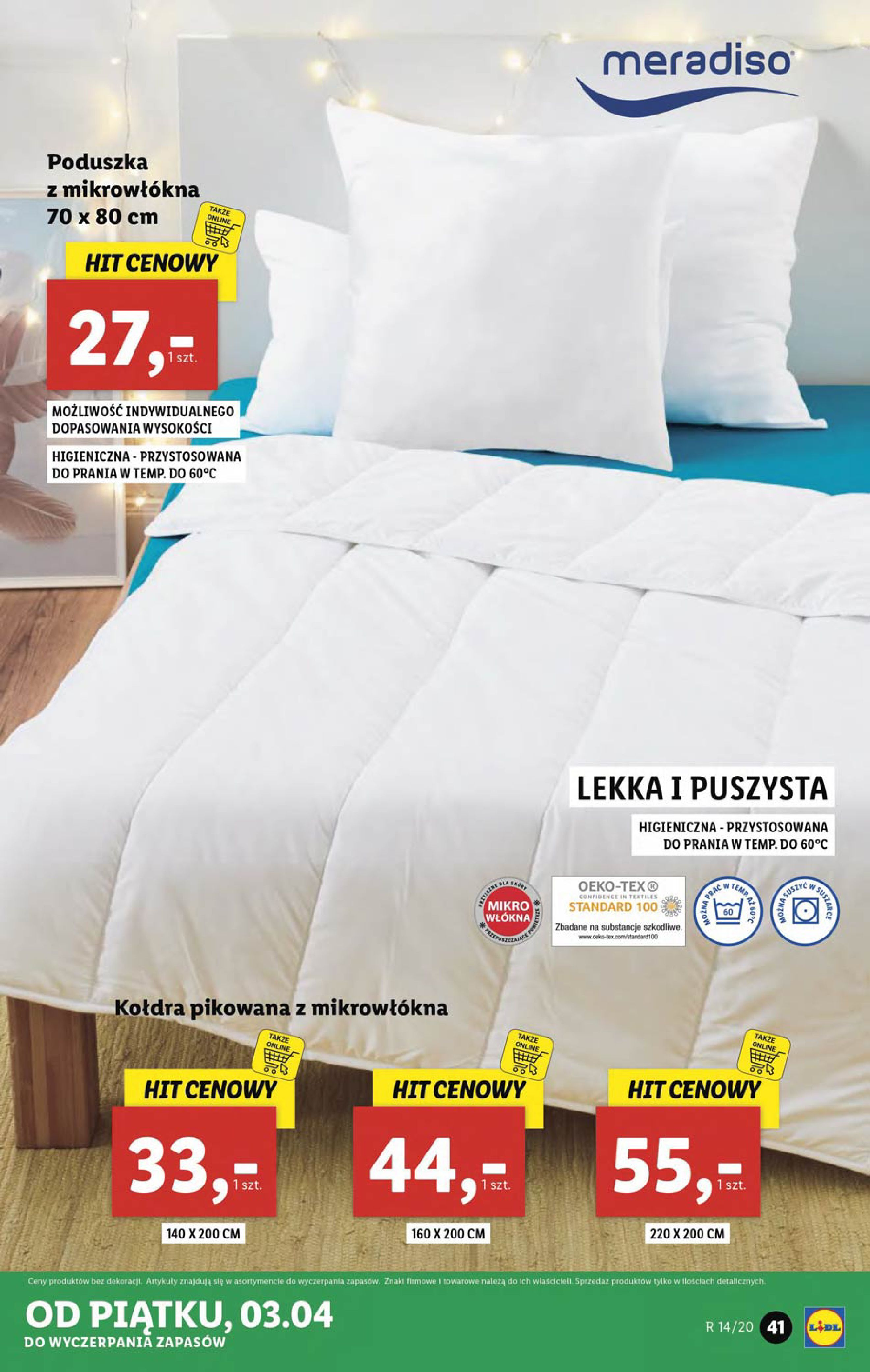 Gazetka Lidl - Katalog od poniedziałku 30.03-29.03.2020-05.04.2020-page-41