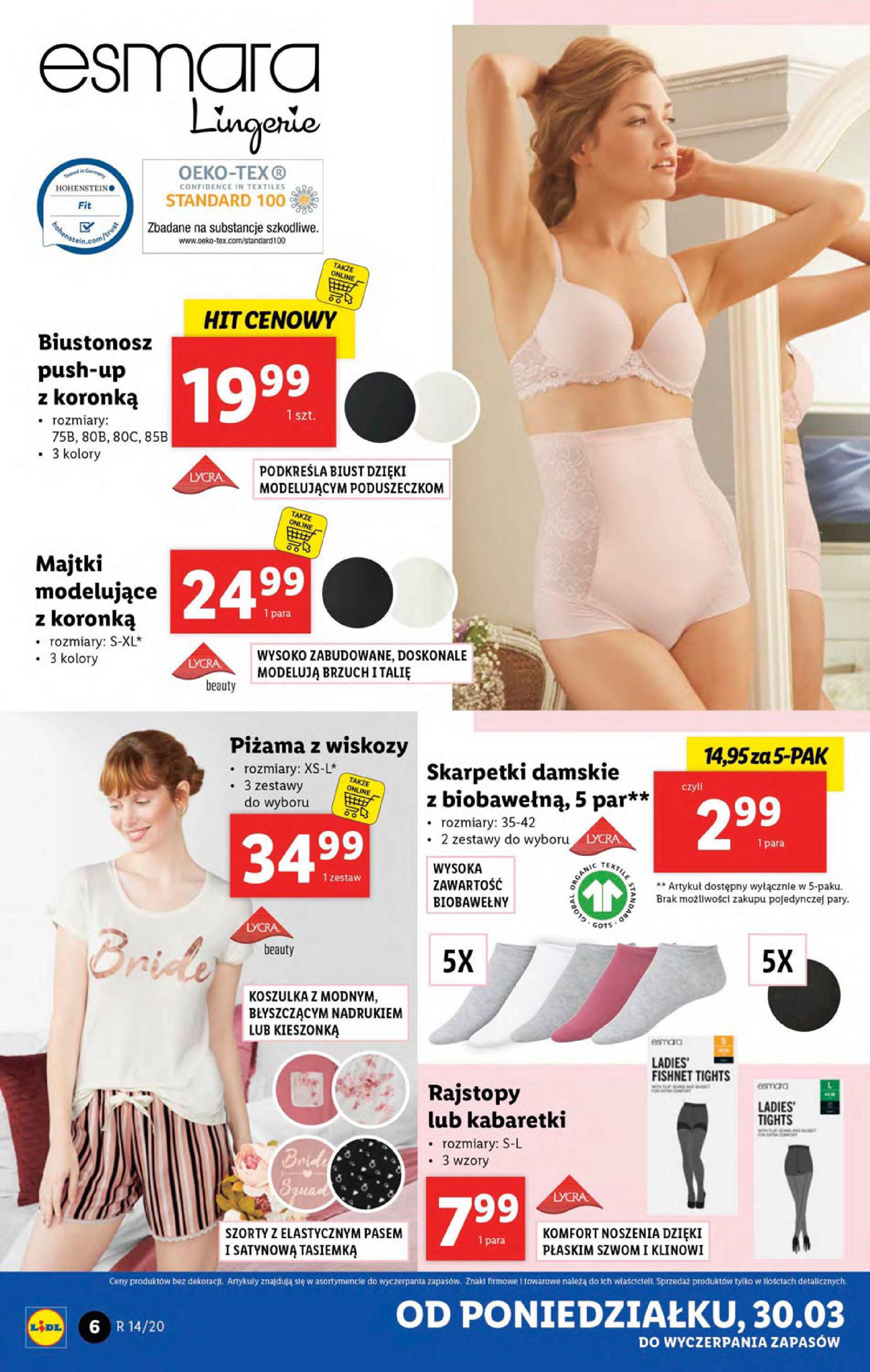 Gazetka Lidl - Katalog od poniedziałku 30.03-29.03.2020-05.04.2020-page-6