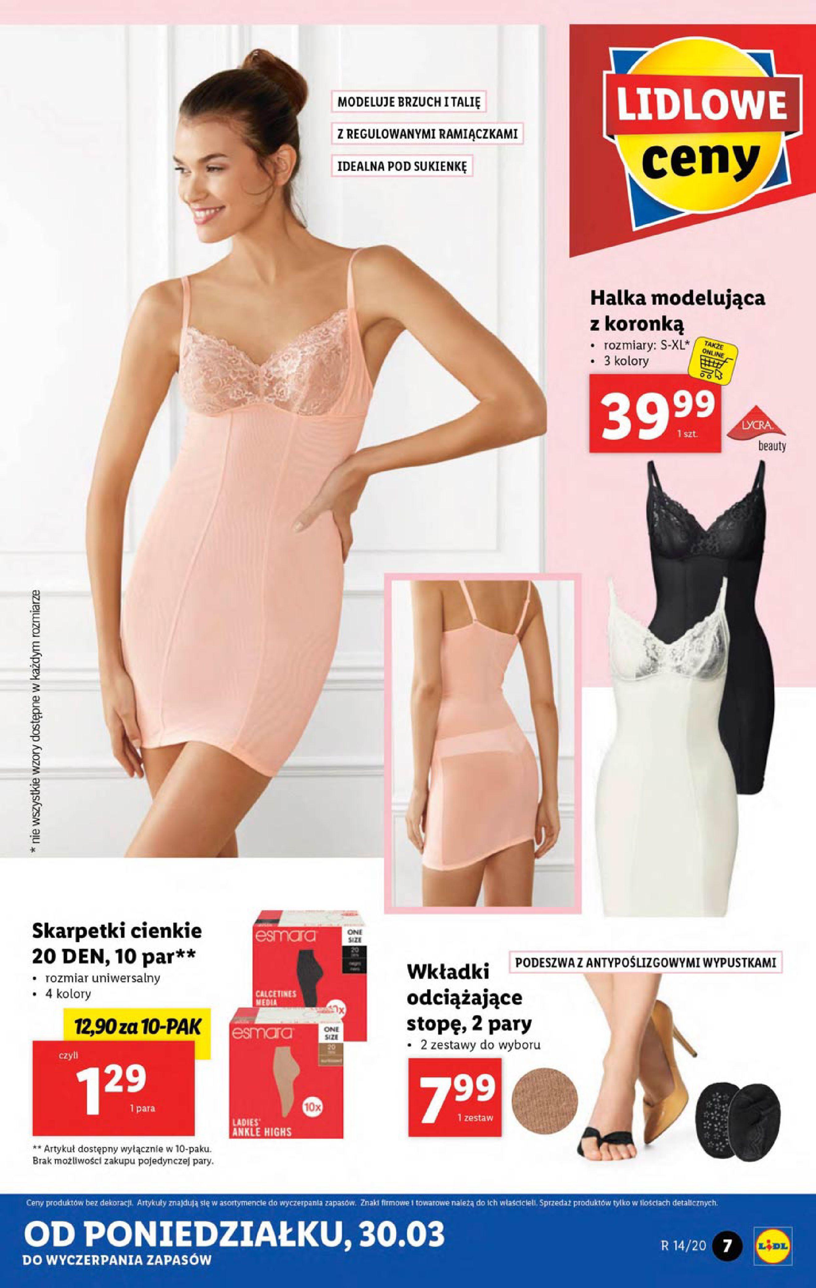 Gazetka Lidl - Katalog od poniedziałku 30.03-29.03.2020-05.04.2020-page-7