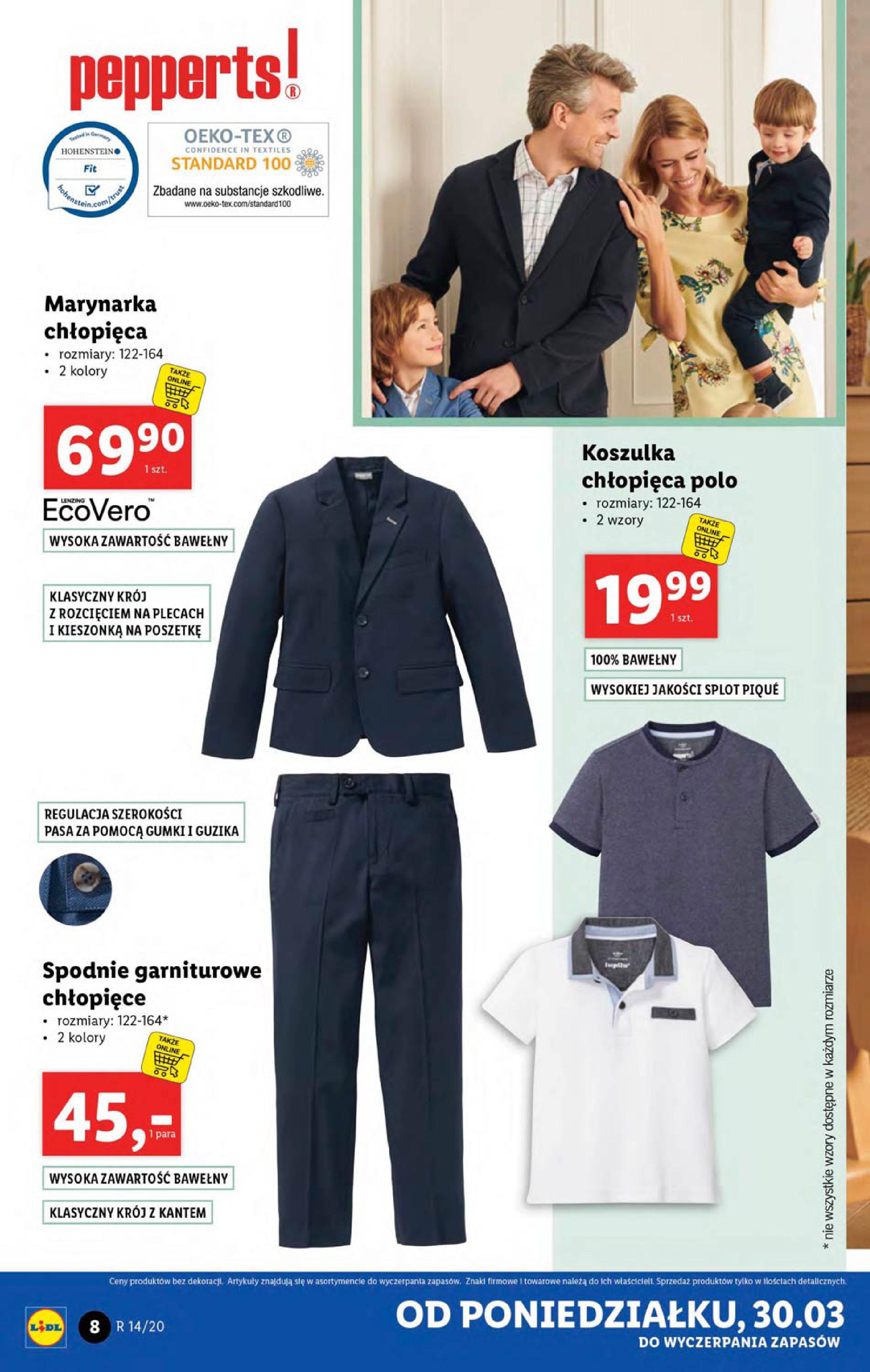 Gazetka Lidl - Katalog od poniedziałku 30.03-29.03.2020-05.04.2020-page-8