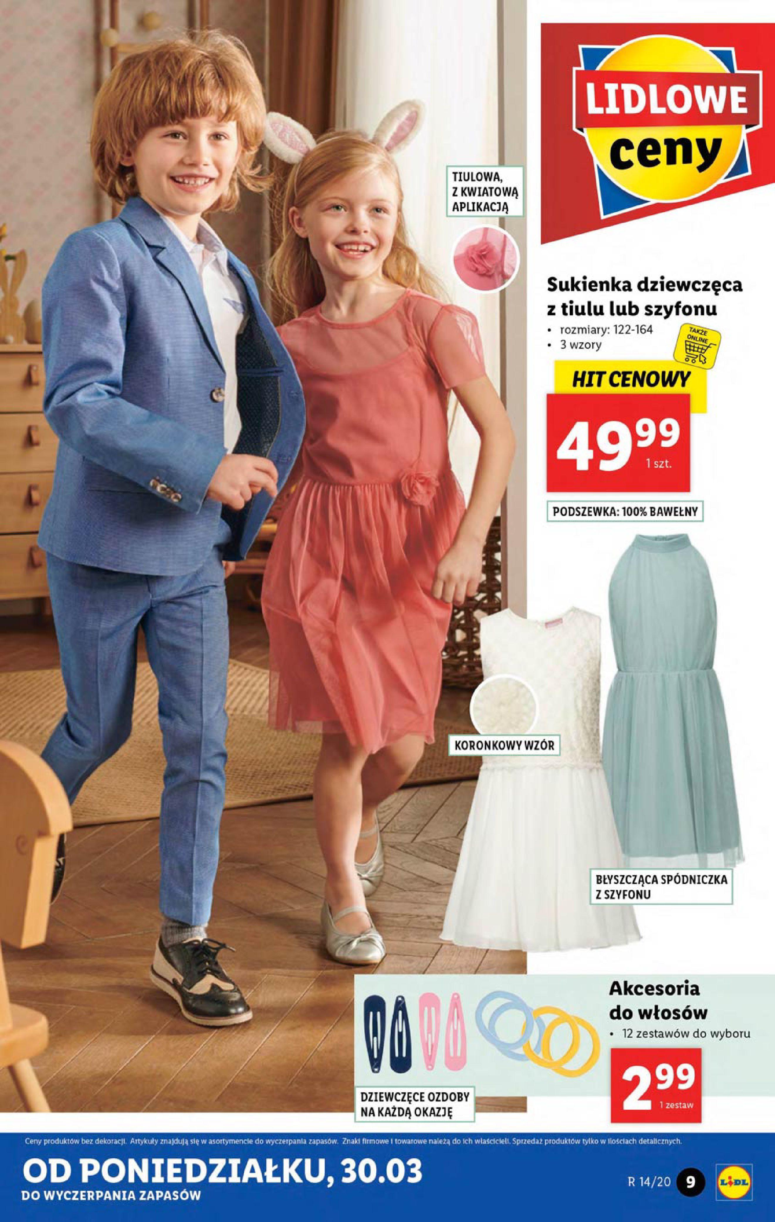 Gazetka Lidl - Katalog od poniedziałku 30.03-29.03.2020-05.04.2020-page-9