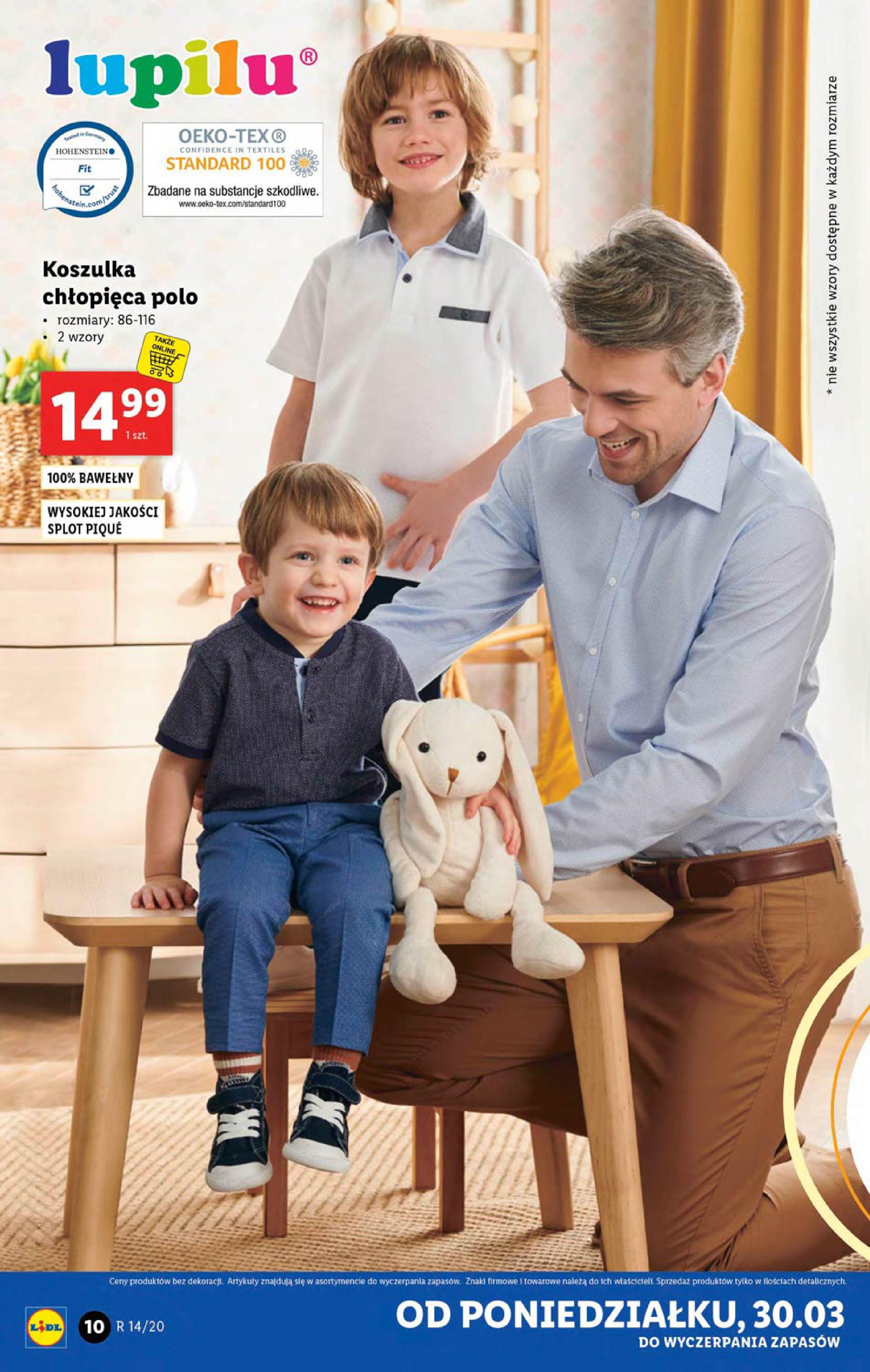 Gazetka Lidl - Katalog od poniedziałku 30.03-29.03.2020-05.04.2020-page-10