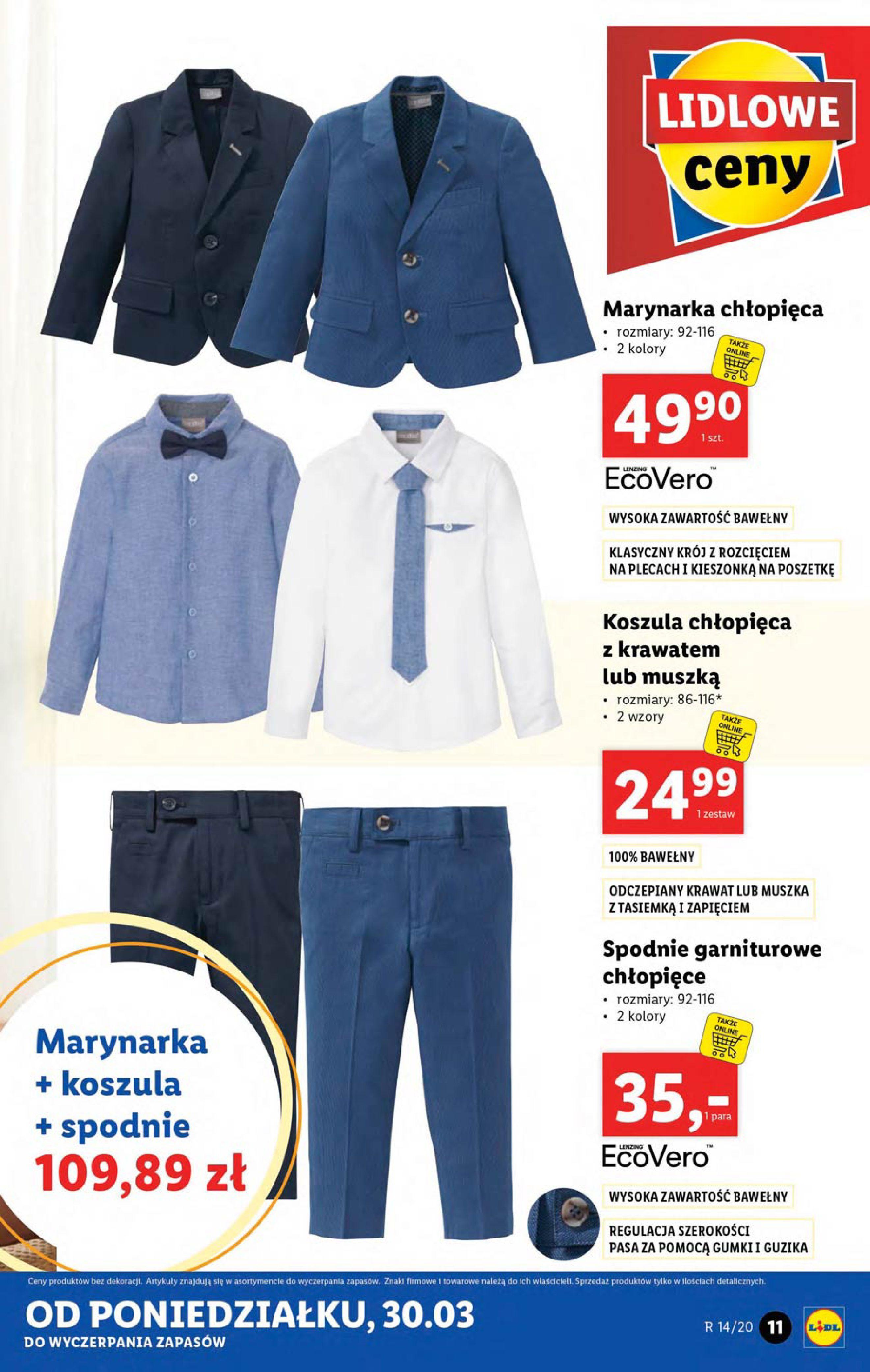 Gazetka Lidl - Katalog od poniedziałku 30.03-29.03.2020-05.04.2020-page-11