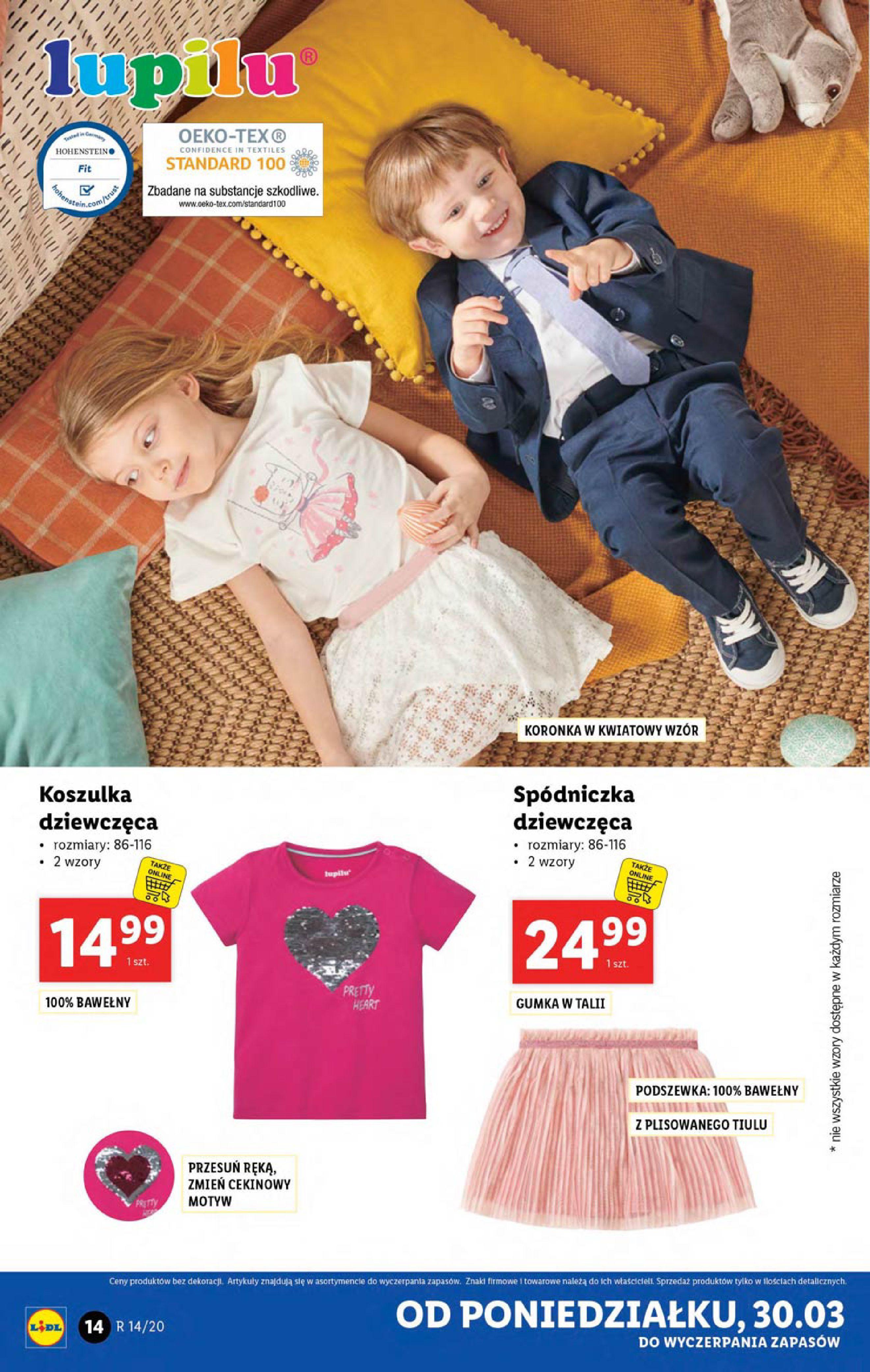 Gazetka Lidl - Katalog od poniedziałku 30.03-29.03.2020-05.04.2020-page-14