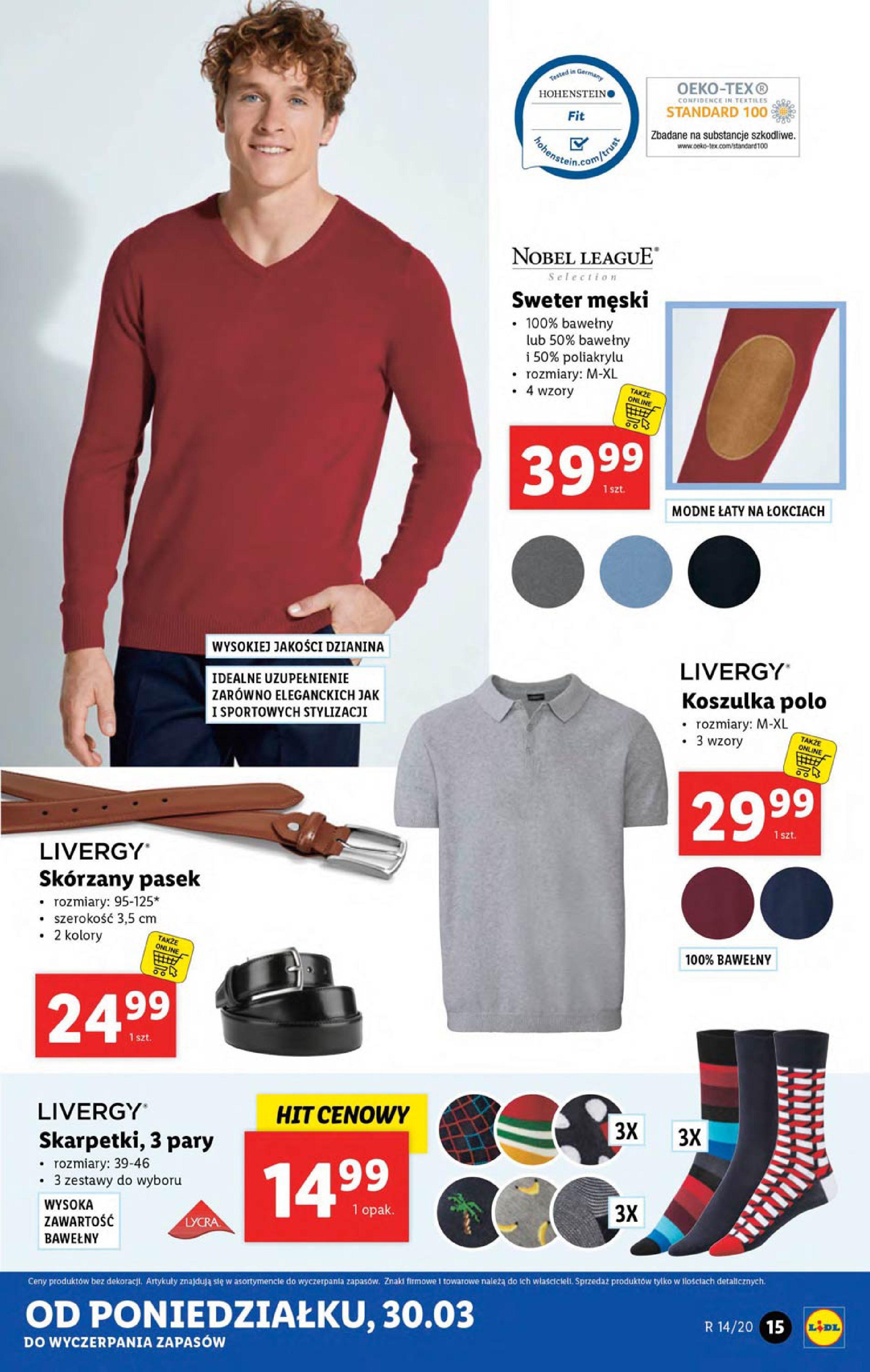 Gazetka Lidl - Katalog od poniedziałku 30.03-29.03.2020-05.04.2020-page-15