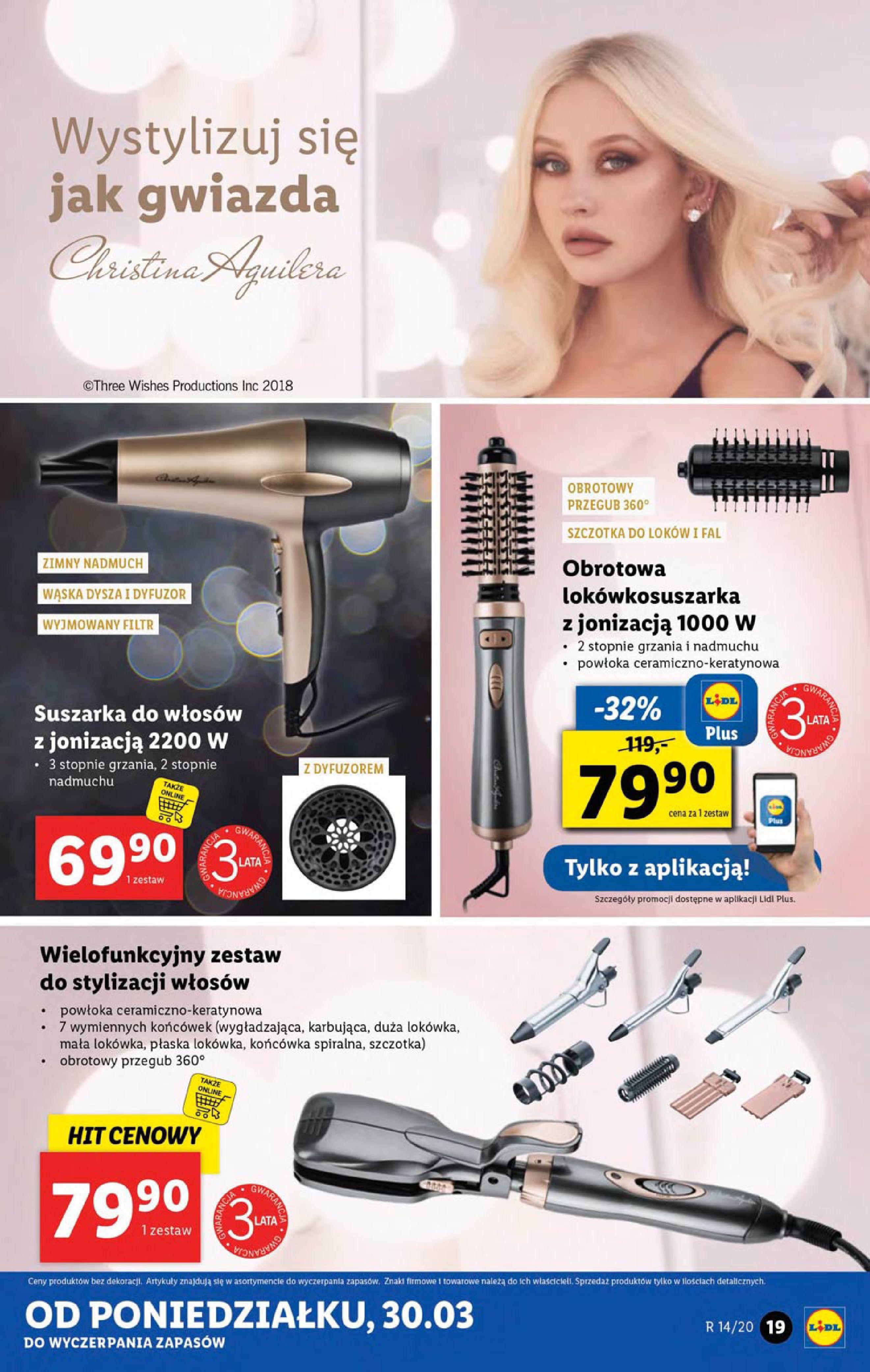 Gazetka Lidl - Katalog od poniedziałku 30.03-29.03.2020-05.04.2020-page-19