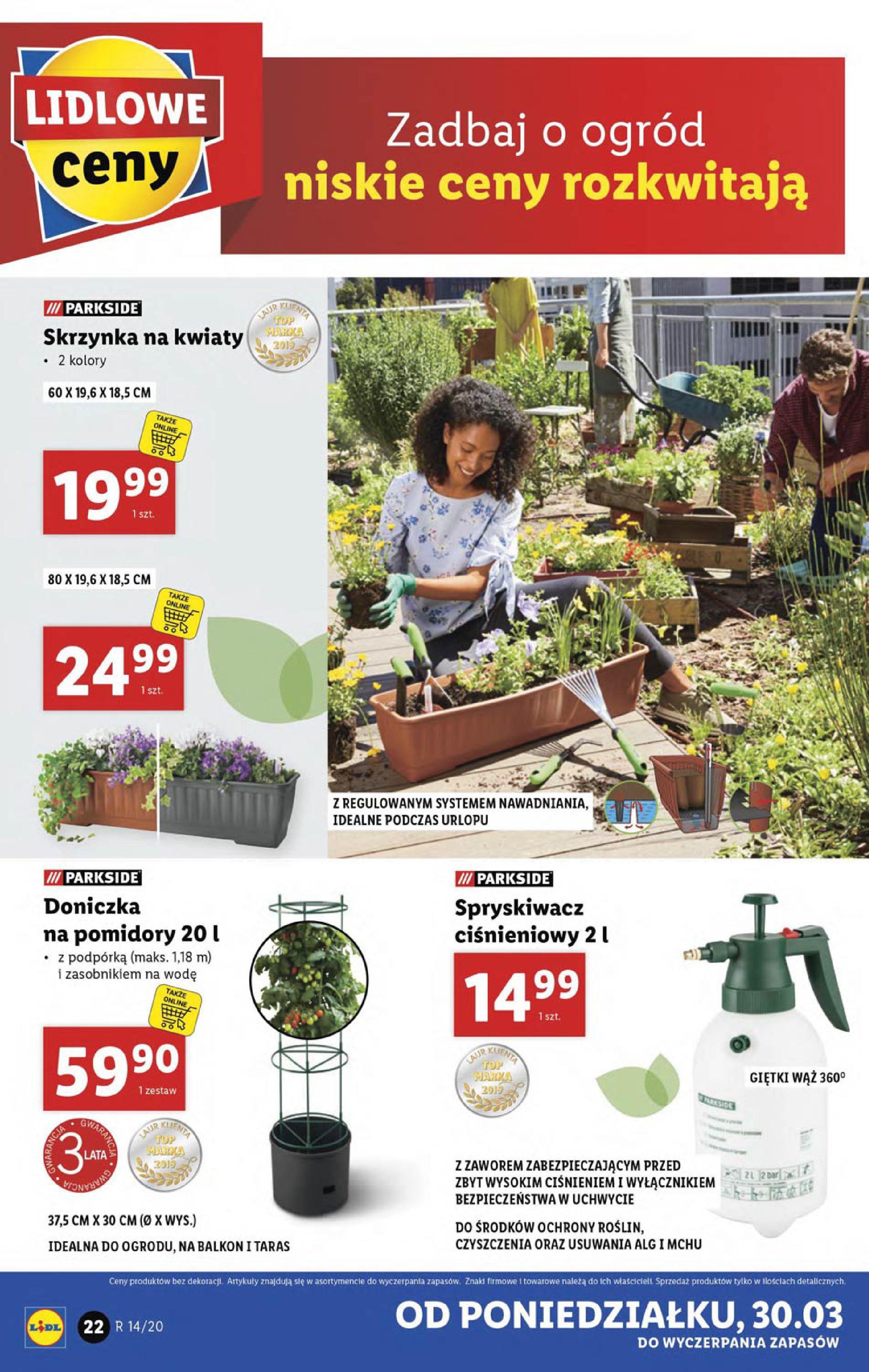 Gazetka Lidl - Katalog od poniedziałku 30.03-29.03.2020-05.04.2020-page-22