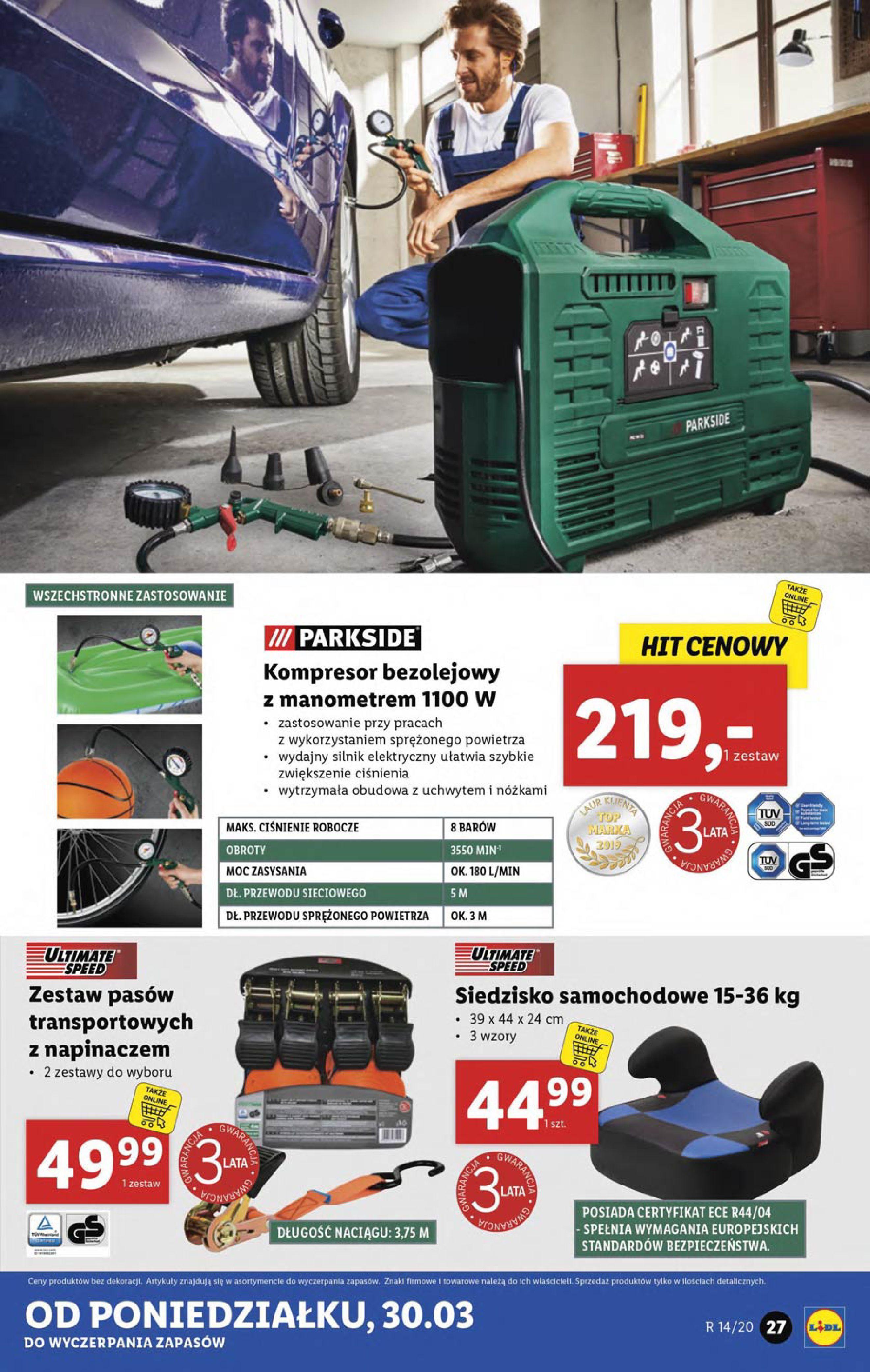 Gazetka Lidl - Katalog od poniedziałku 30.03-29.03.2020-05.04.2020-page-27