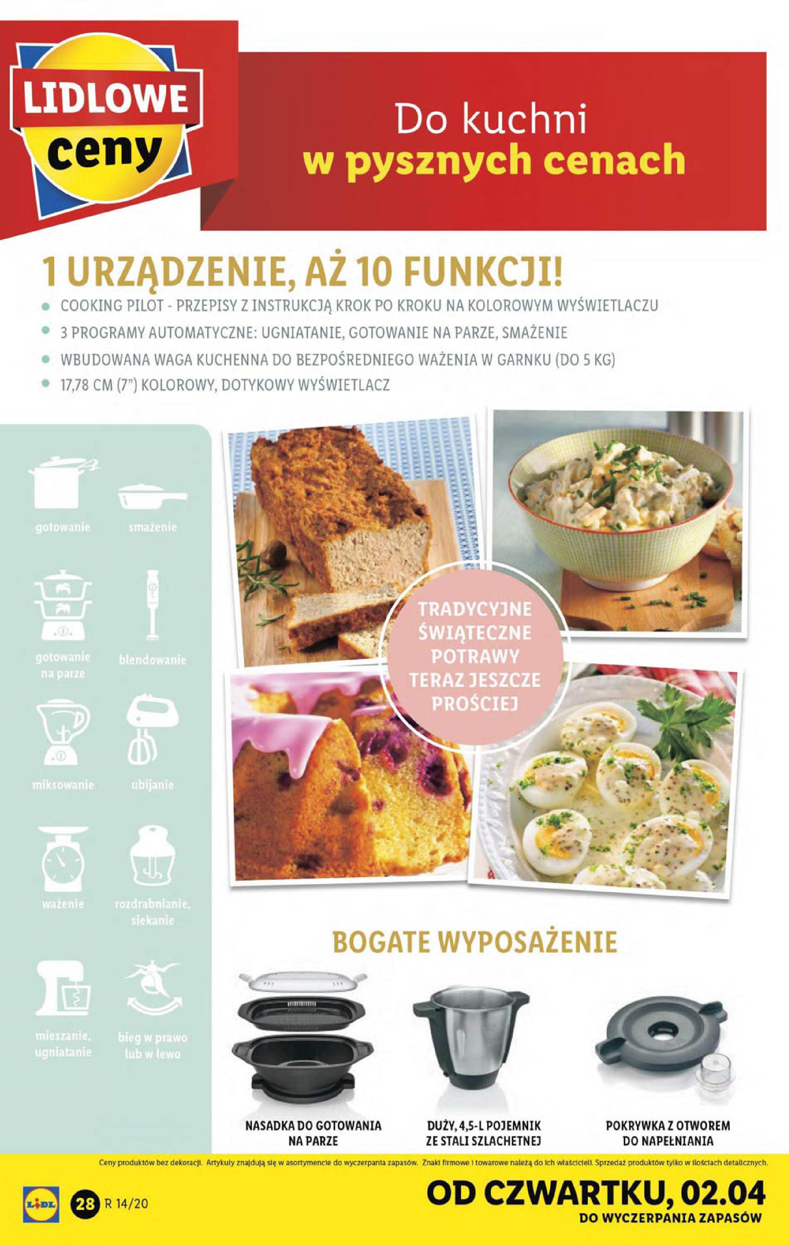 Gazetka Lidl - Katalog od poniedziałku 30.03-29.03.2020-05.04.2020-page-28