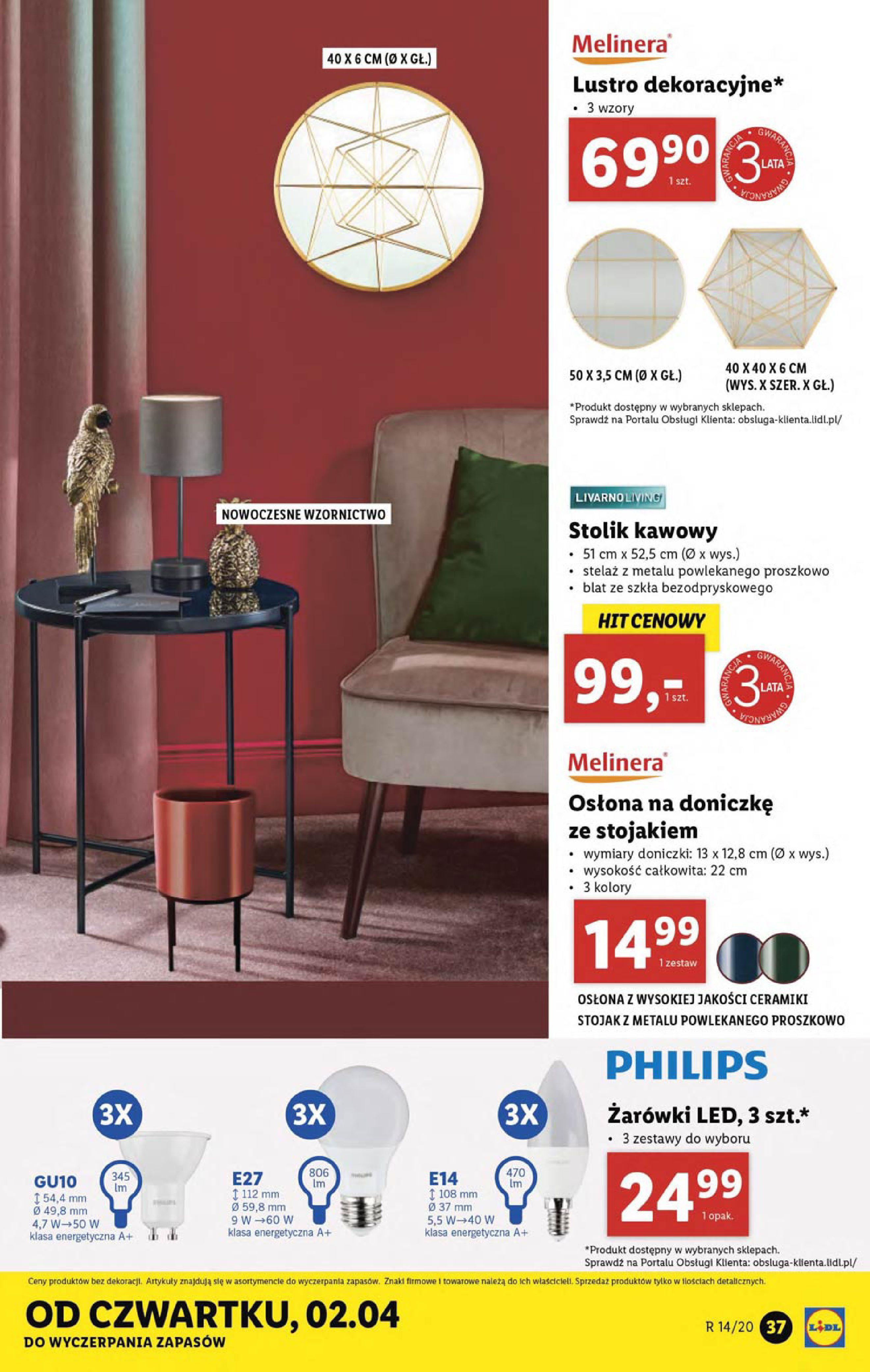 Gazetka Lidl - Katalog od poniedziałku 30.03-29.03.2020-05.04.2020-page-37