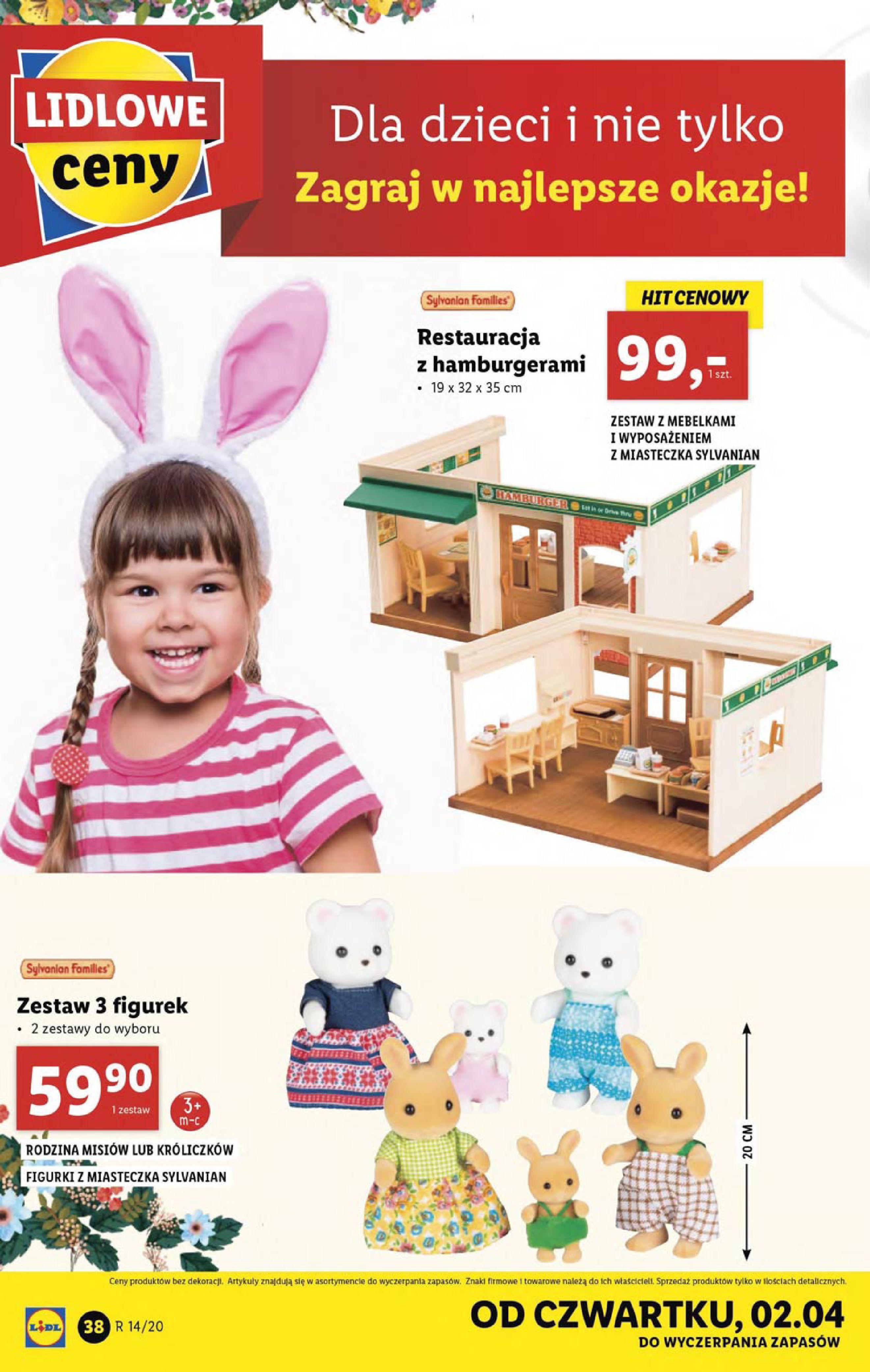 Gazetka Lidl - Katalog od poniedziałku 30.03-29.03.2020-05.04.2020-page-38