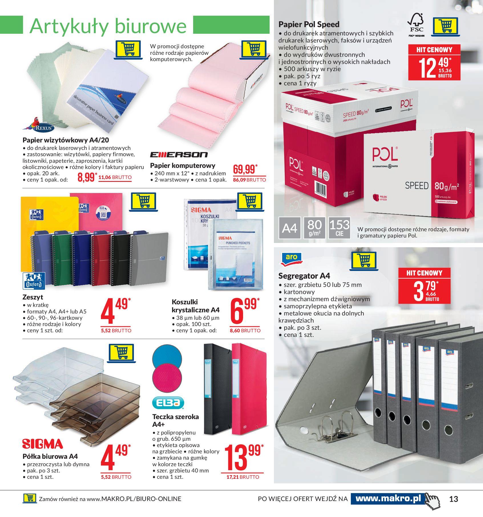 Gazetka Makro - Artykuły przemysłowe-10.02.2020-24.02.2020-page-13