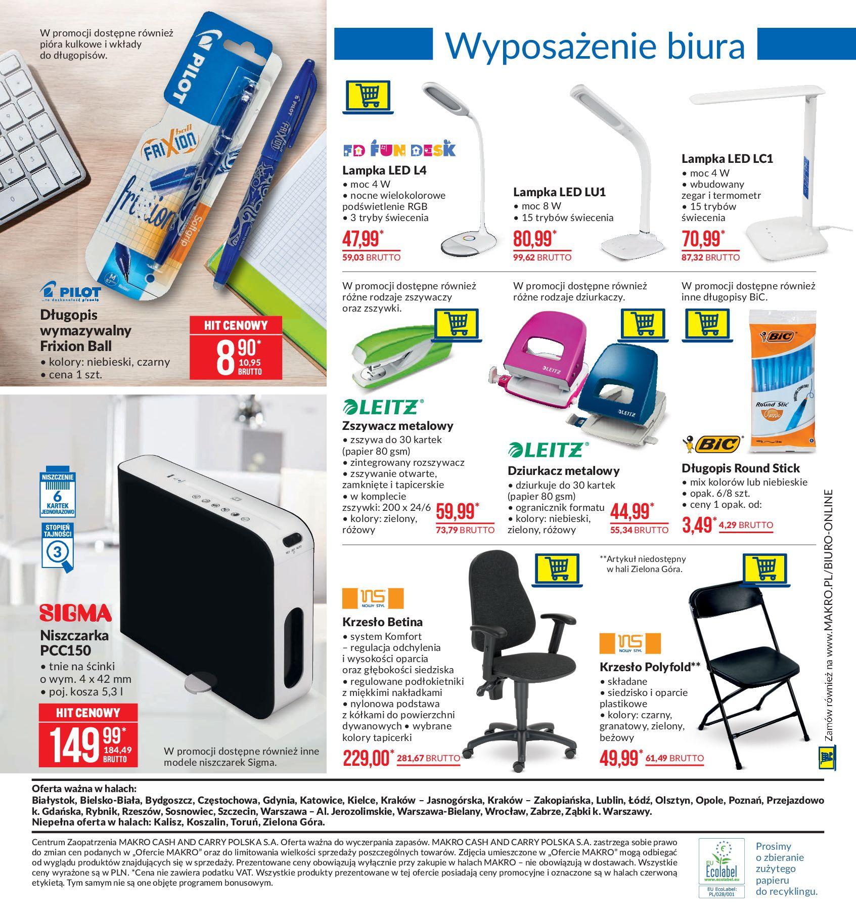 Gazetka Makro - Artykuły przemysłowe-10.02.2020-24.02.2020-page-14