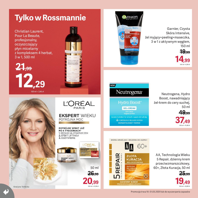 Gazetka Rossmann - Gazetka promocyjna-15.03.2020-31.03.2020-page-8