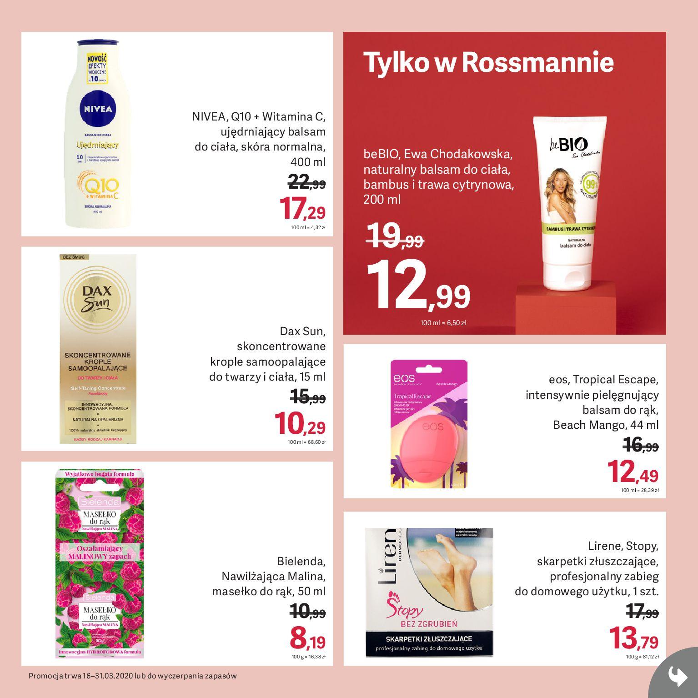 Gazetka Rossmann - Gazetka promocyjna-15.03.2020-31.03.2020-page-9