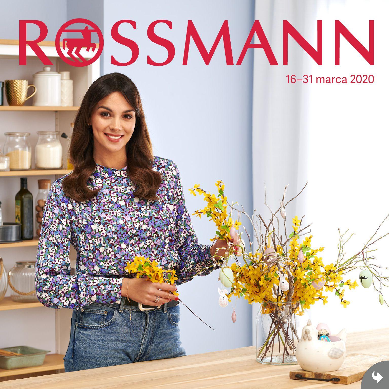 Gazetka Rossmann - Gazetka promocyjna-15.03.2020-31.03.2020-page-1