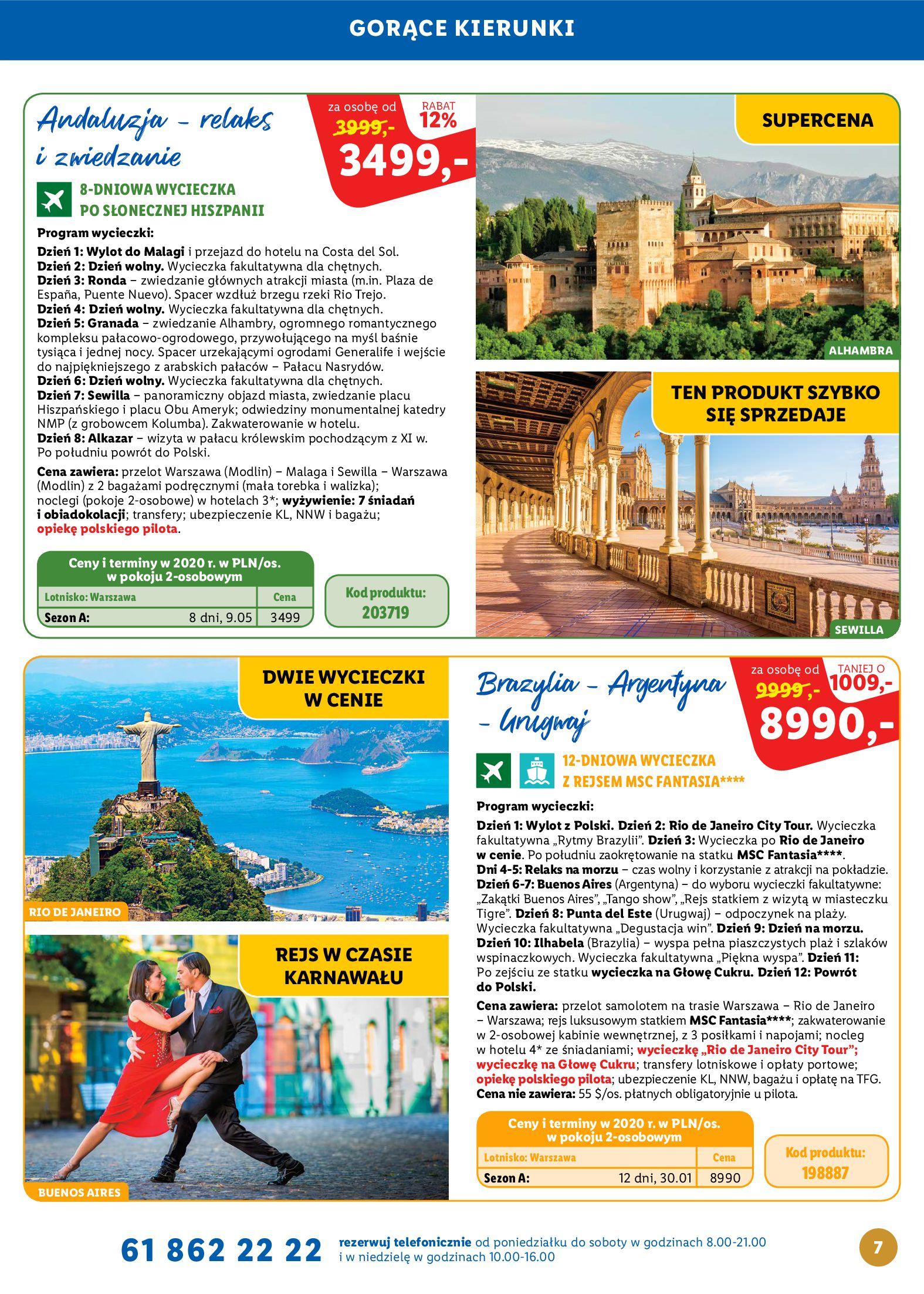 Gazetka Lidl - Katalog podróże-13.10.2019-16.11.2019-page-7