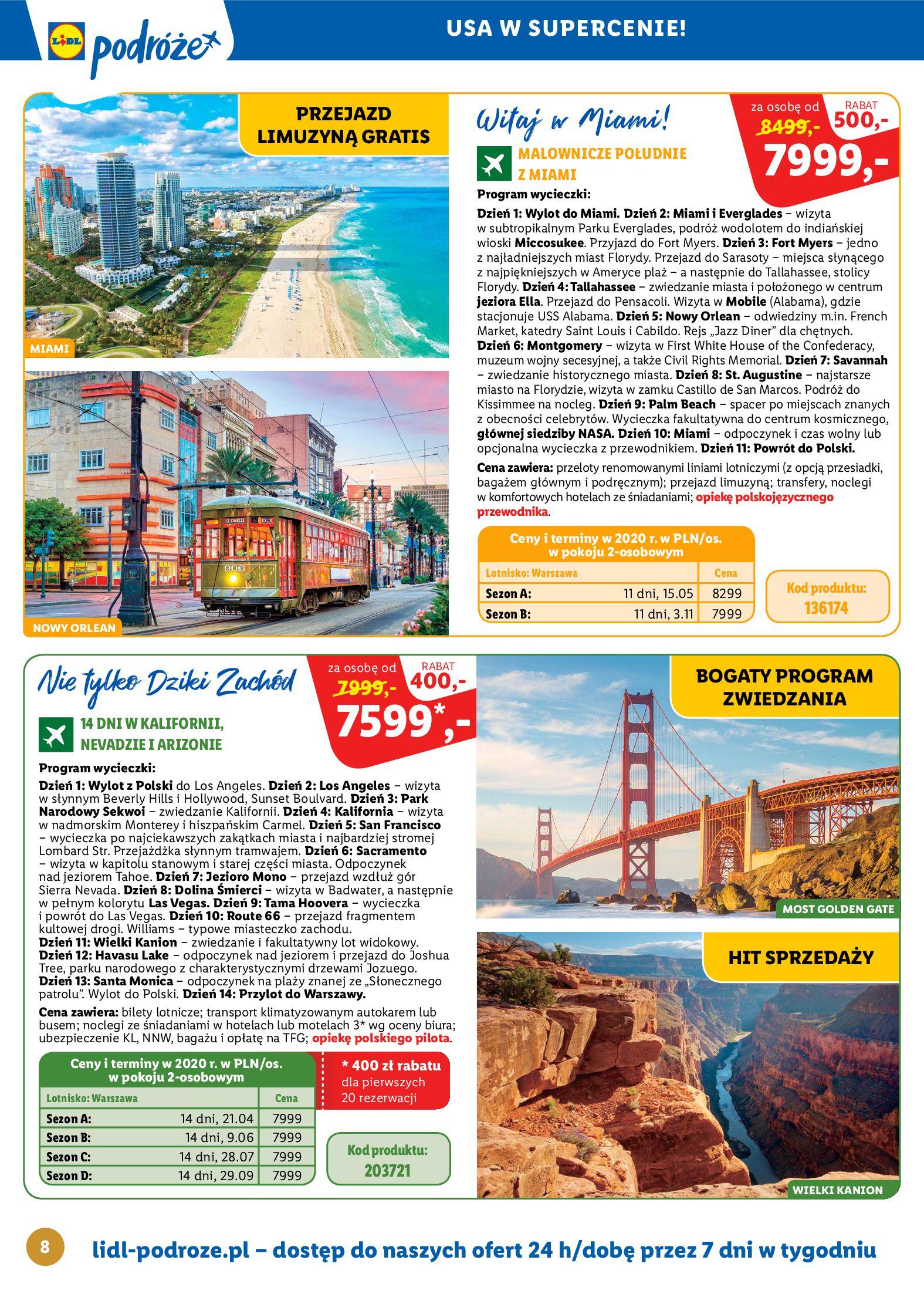Gazetka Lidl - Katalog podróże-13.10.2019-16.11.2019-page-8