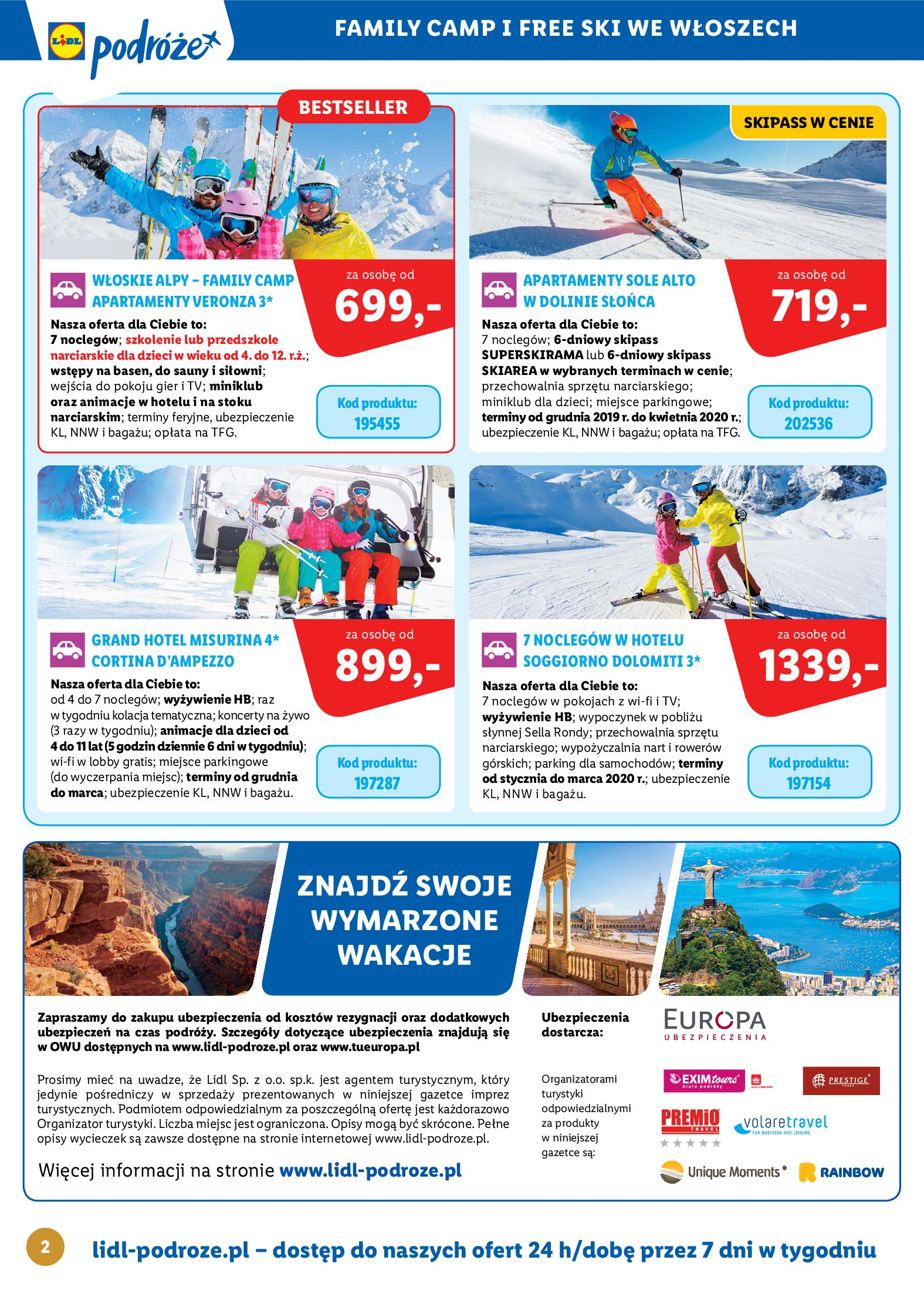 Gazetka Lidl - Katalog podróże-13.10.2019-16.11.2019-page-2