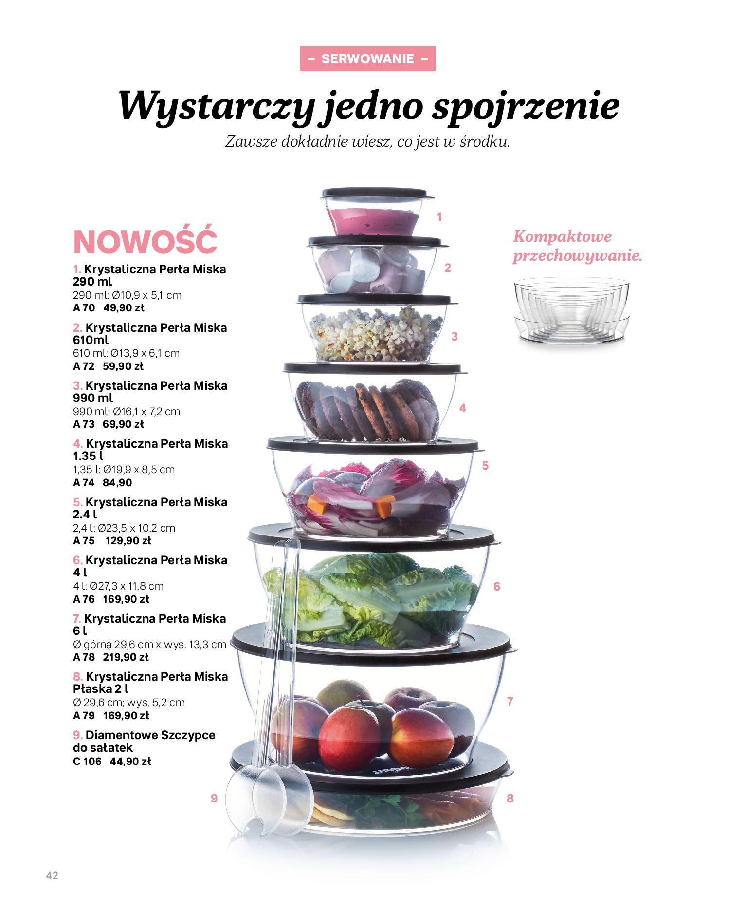 Gazetka Tupperware: Katalog jesień/zima 2021-02-17 page-42