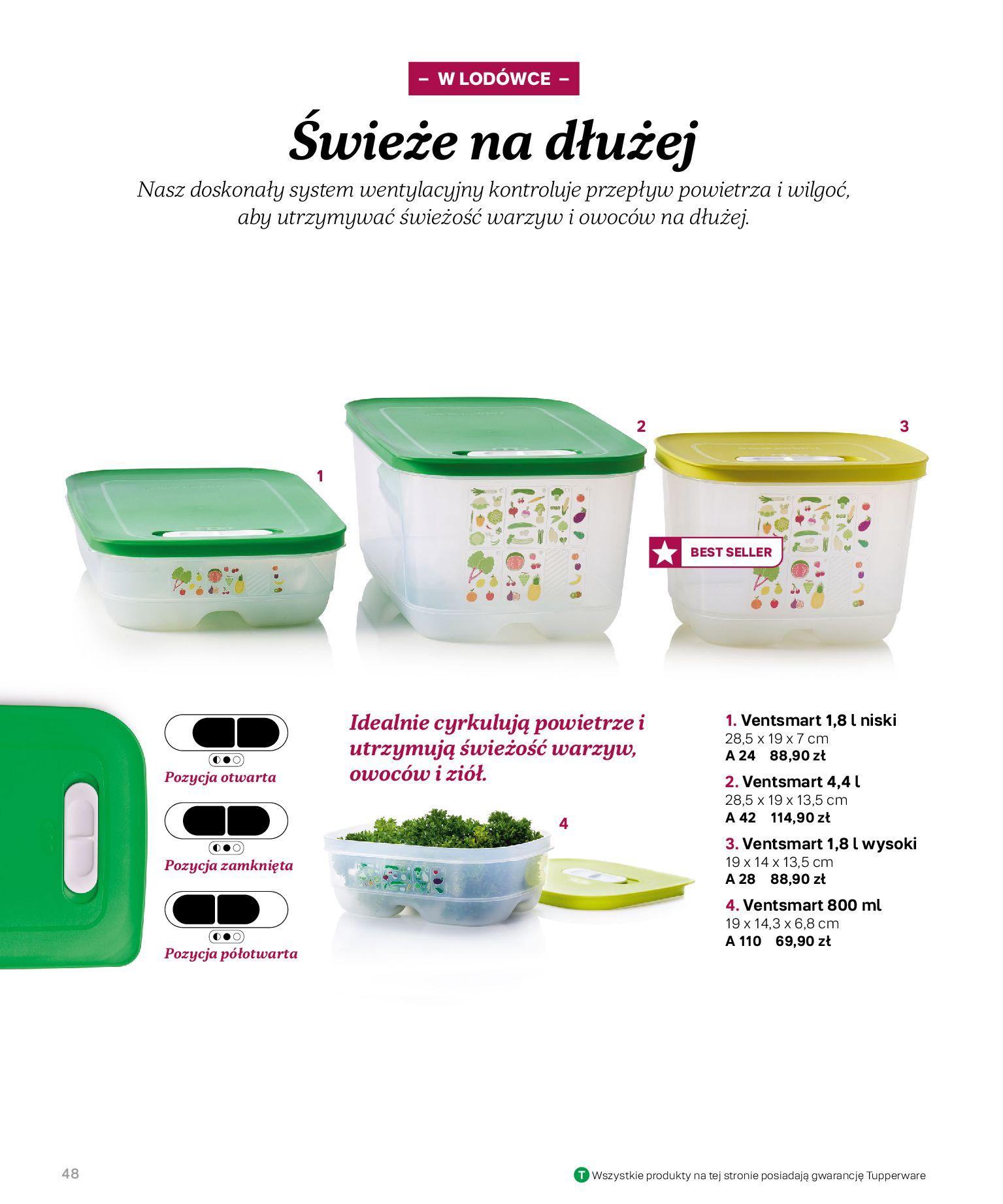 Gazetka Tupperware: Katalog jesień/zima 2021-02-17 page-48