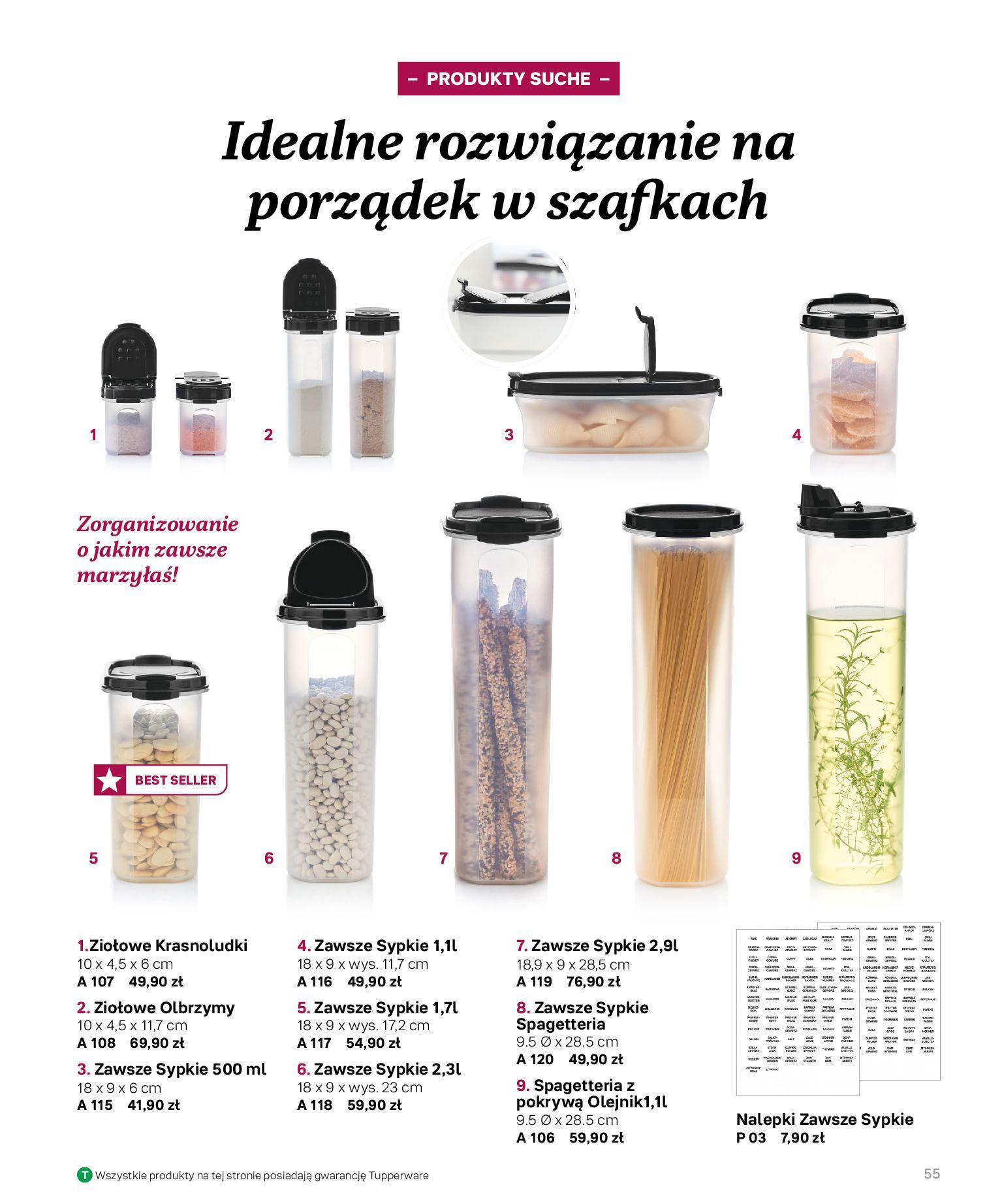 Gazetka Tupperware: Katalog jesień/zima 2021-02-17 page-55