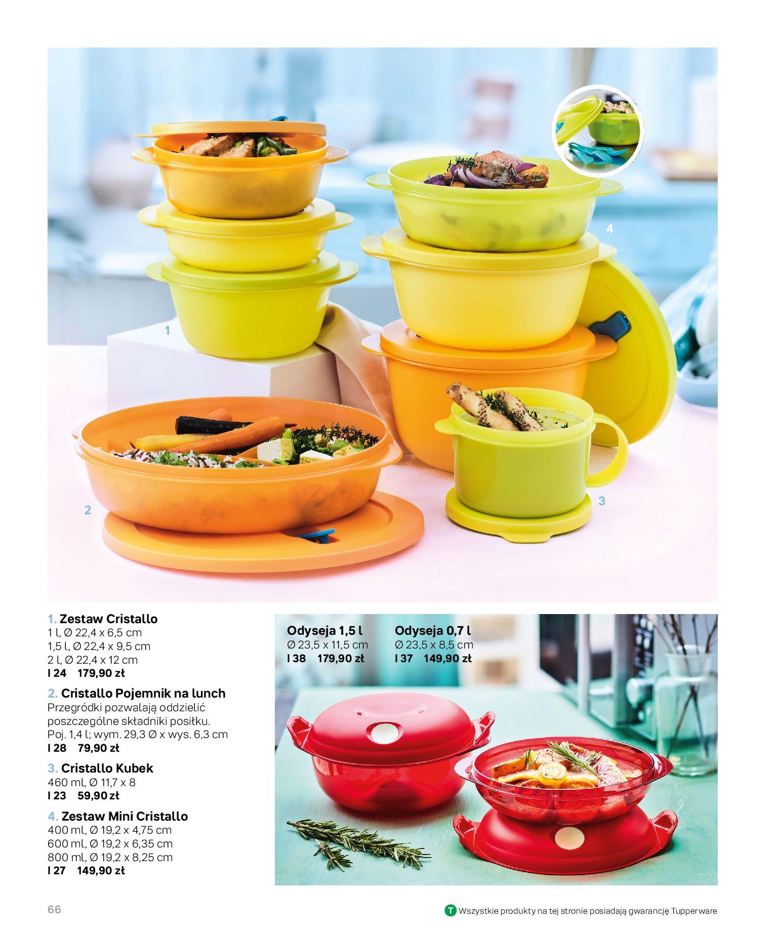 Gazetka Tupperware: Katalog jesień/zima 2021-02-17 page-66