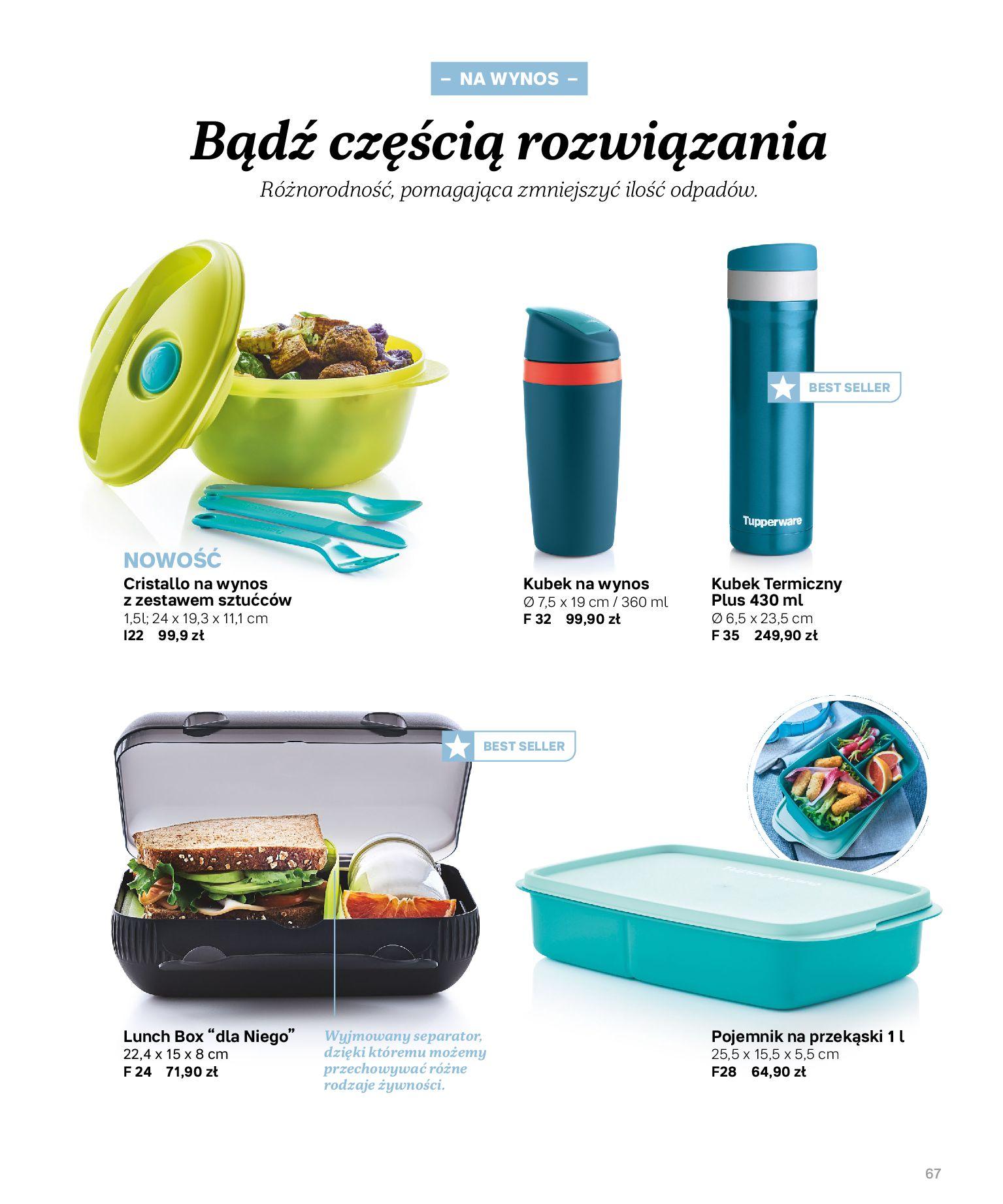 Gazetka Tupperware: Katalog jesień/zima 2021-02-17 page-67