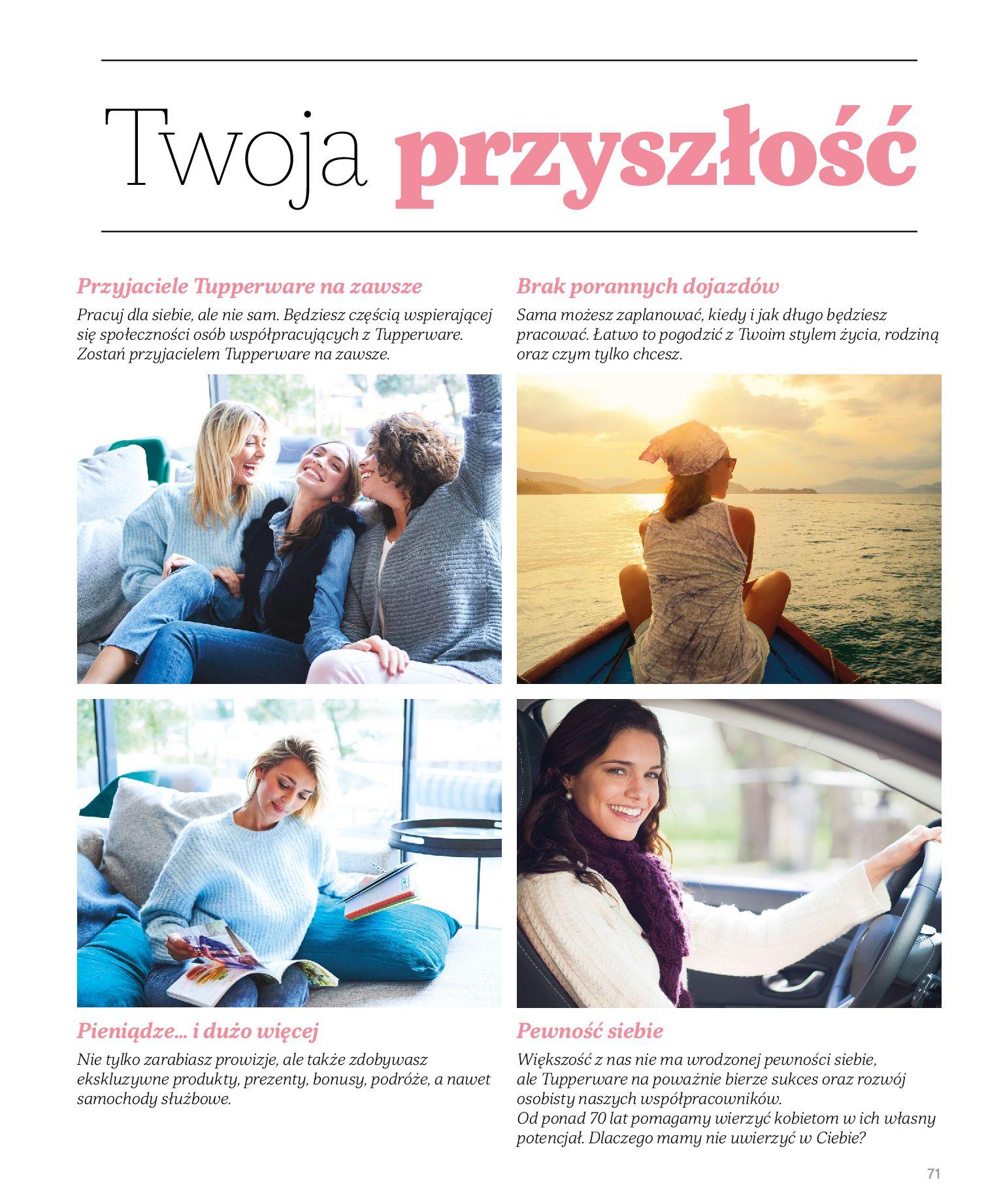 Gazetka Tupperware: Katalog jesień/zima 2021-02-17 page-71