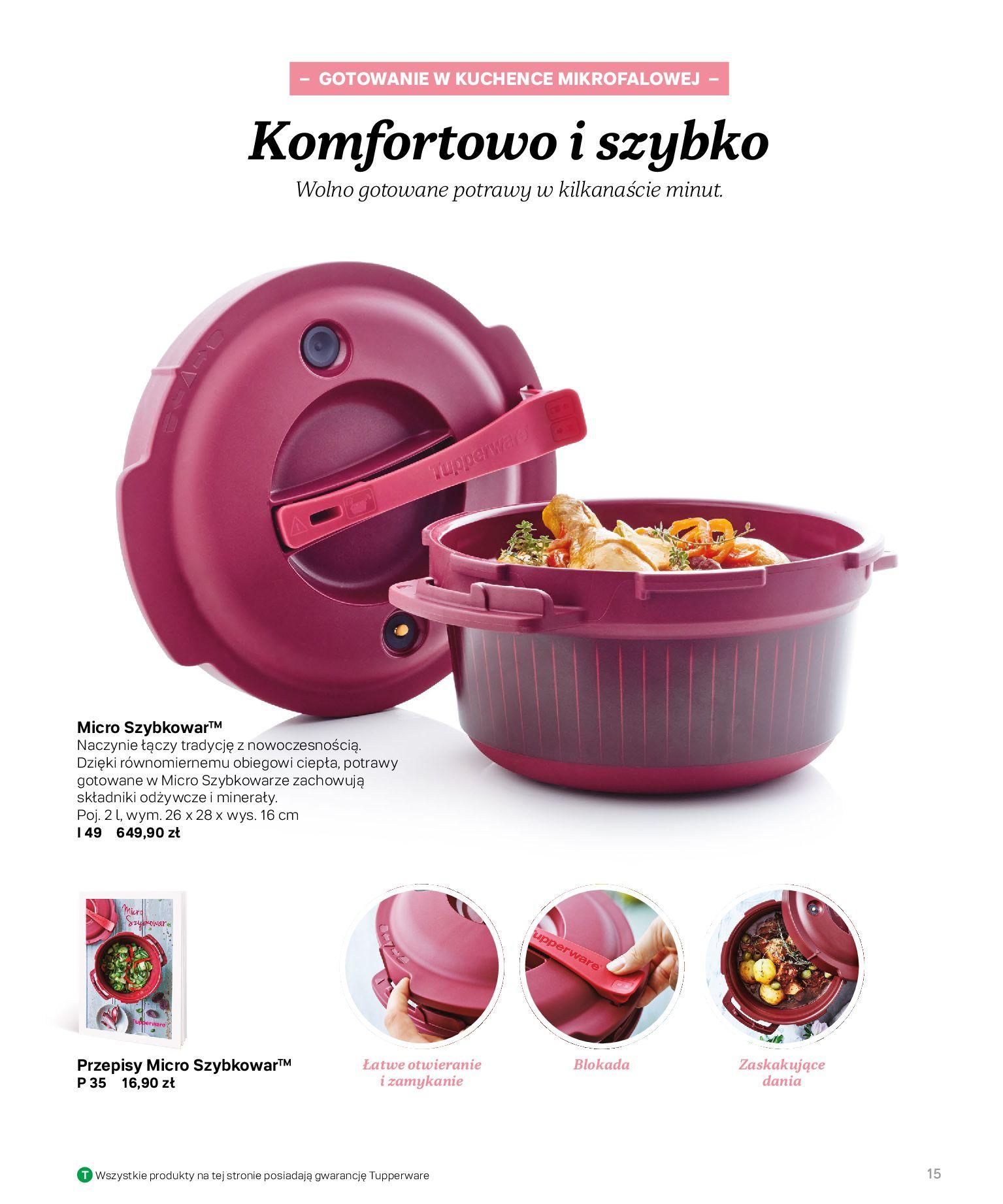 Gazetka Tupperware: Katalog jesień/zima 2021-02-17 page-15