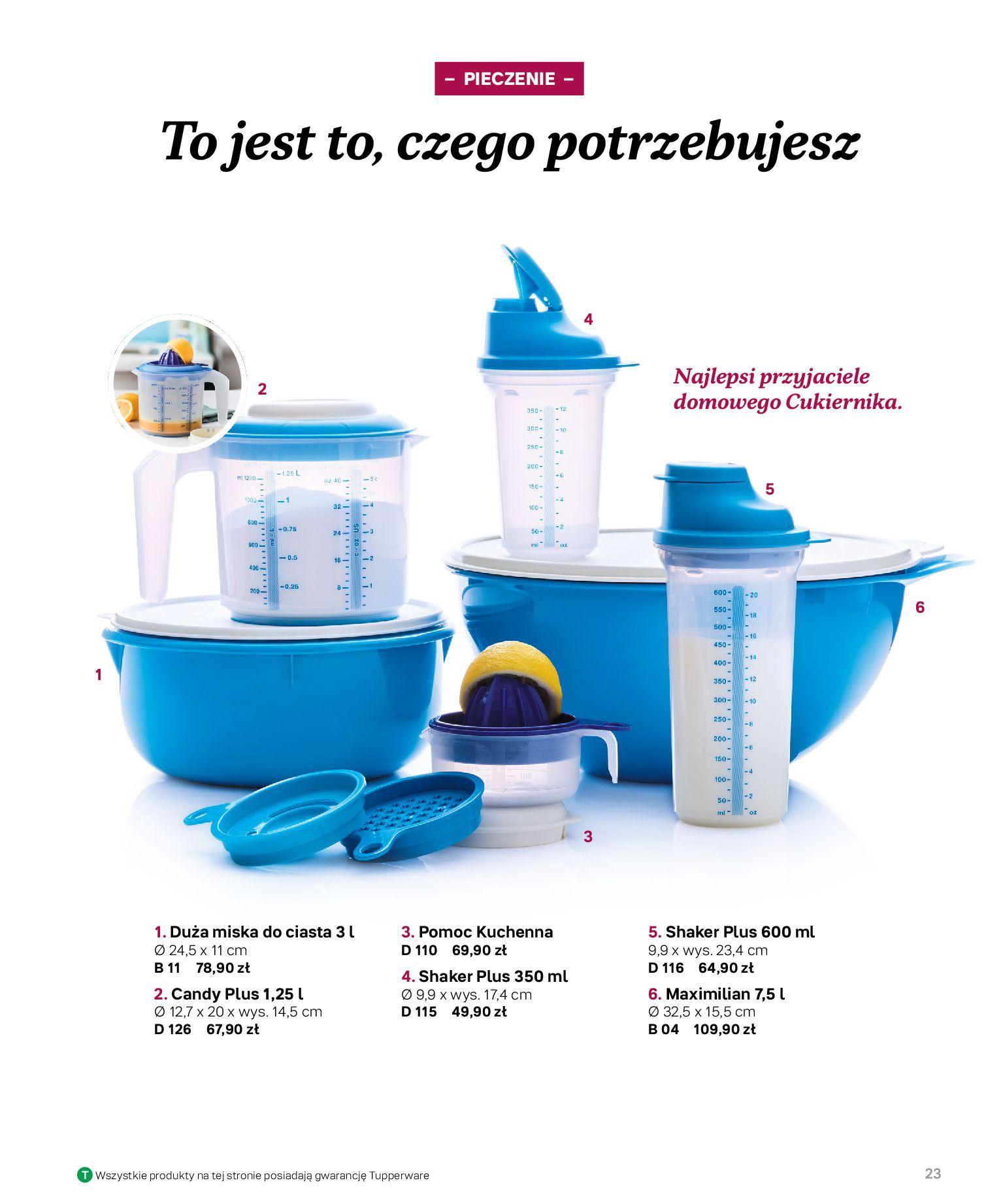 Gazetka Tupperware: Katalog jesień/zima 2021-02-17 page-23