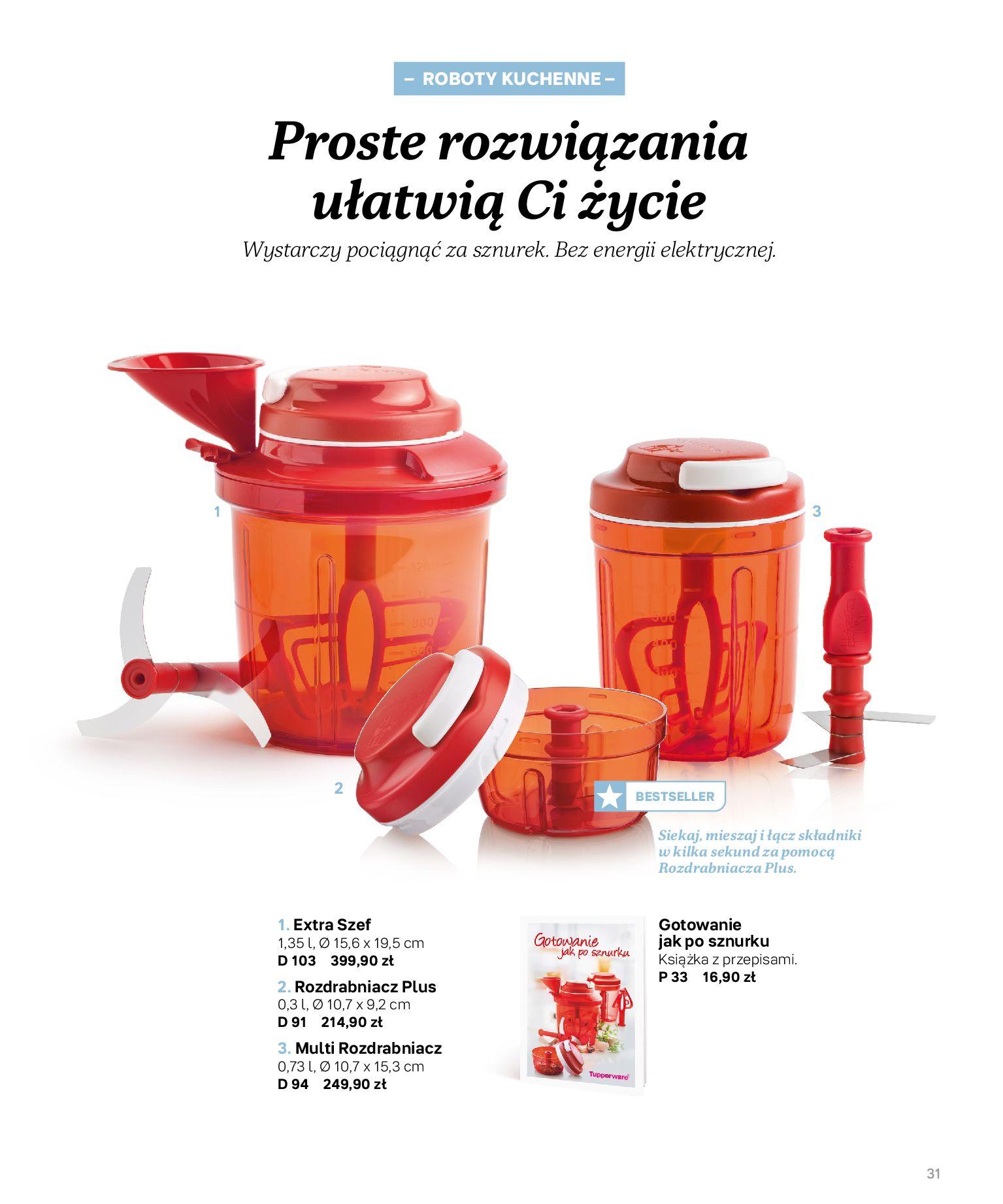 Gazetka Tupperware: Katalog jesień/zima 2021-02-17 page-31