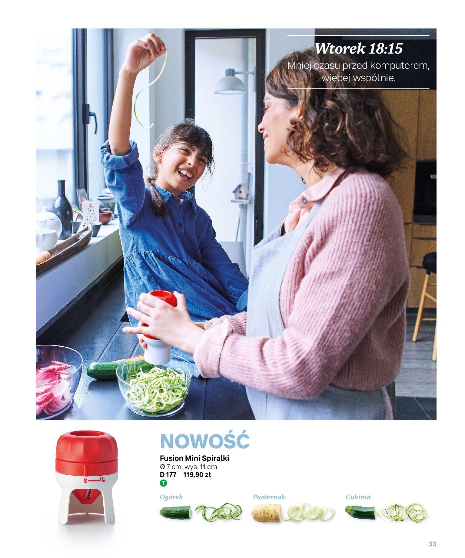 Gazetka Tupperware: Katalog jesień/zima 2021-02-17 page-33