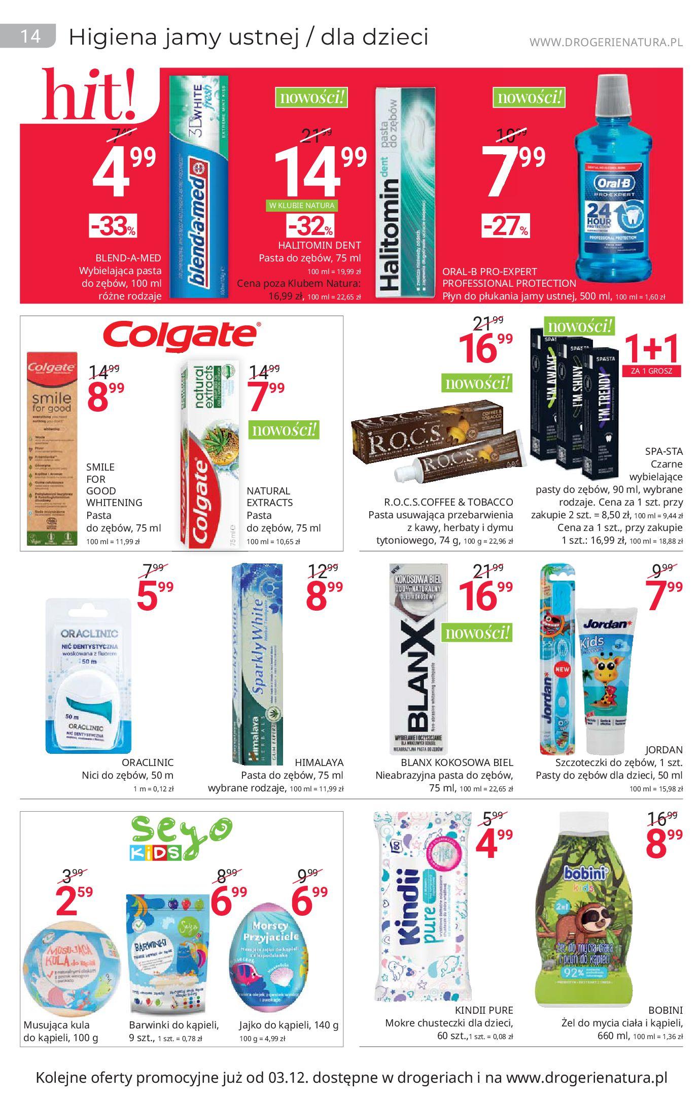 Gazetka Drogerie Natura: Black Weeks 2020-11-19 page-14