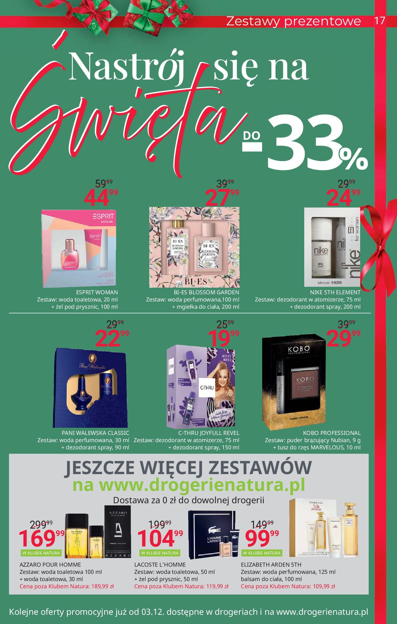 Gazetka Drogerie Natura: Black Weeks 2020-11-19 page-17