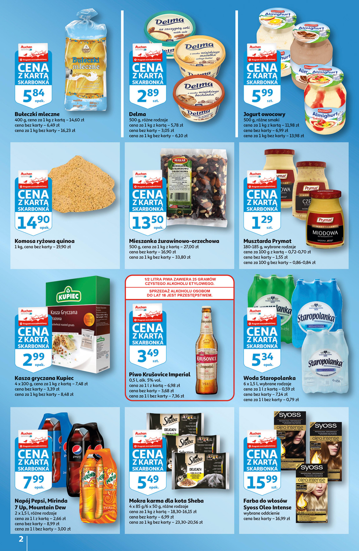 Gazetka Auchan: Gazetka Auchan - Skarbonka #29 2021-07-22 page-2