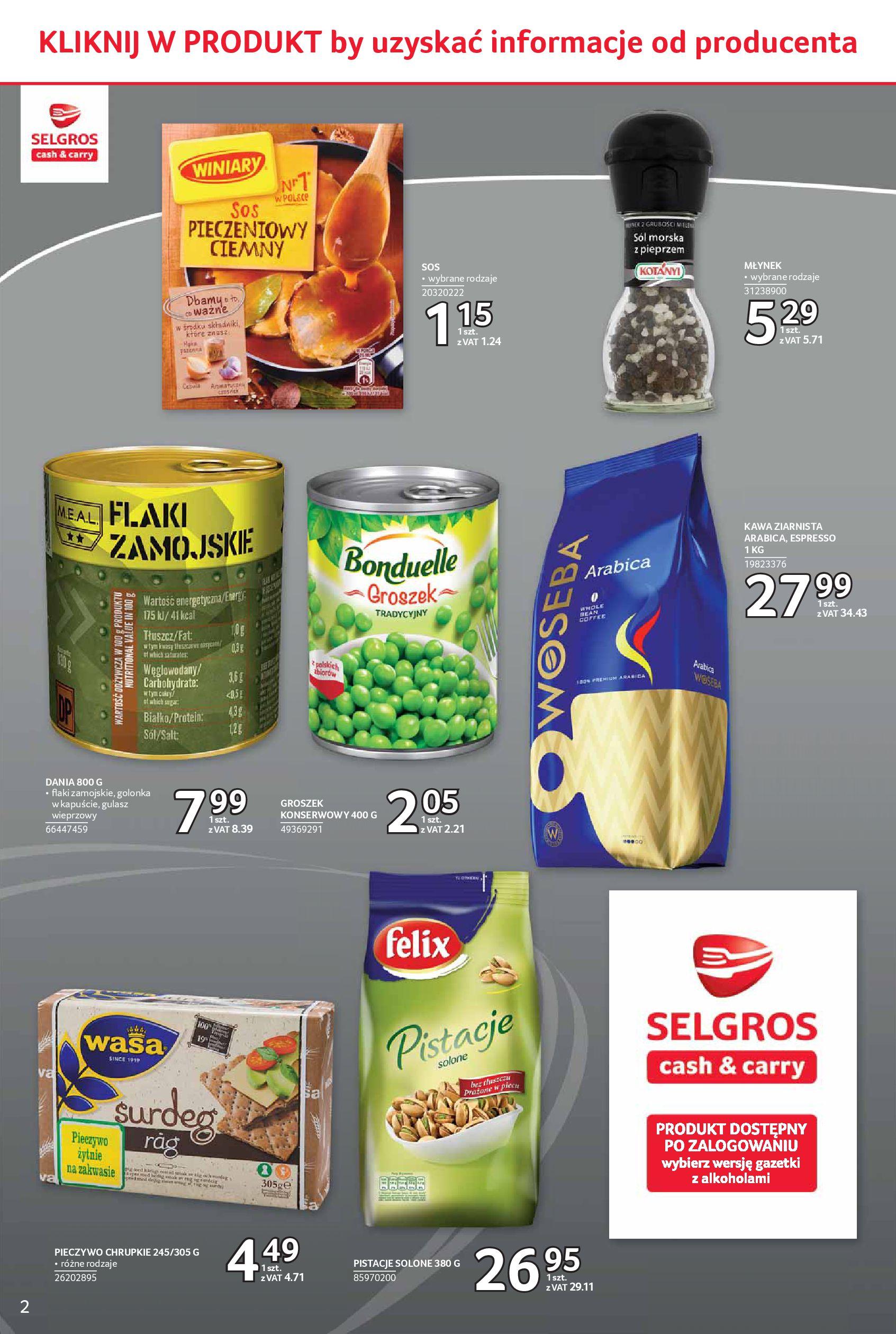 Gazetka Selgros - Oferta spożywcza-05.06.2019-19.06.2019-page-