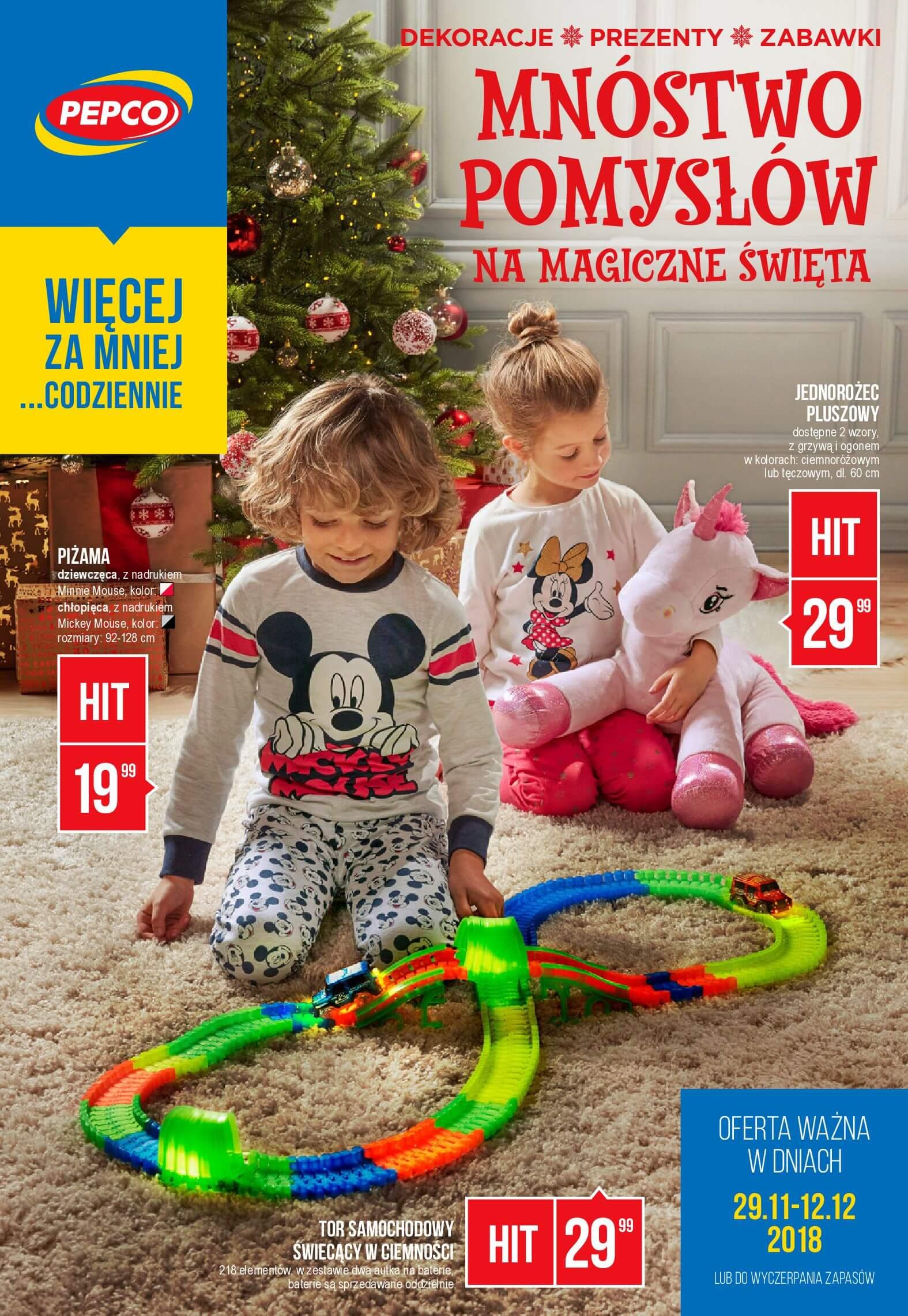 Gazetka Pepco - Mnóstwo pomysłów na magiczne święta-27.11.2018-12.12.2018-page-
